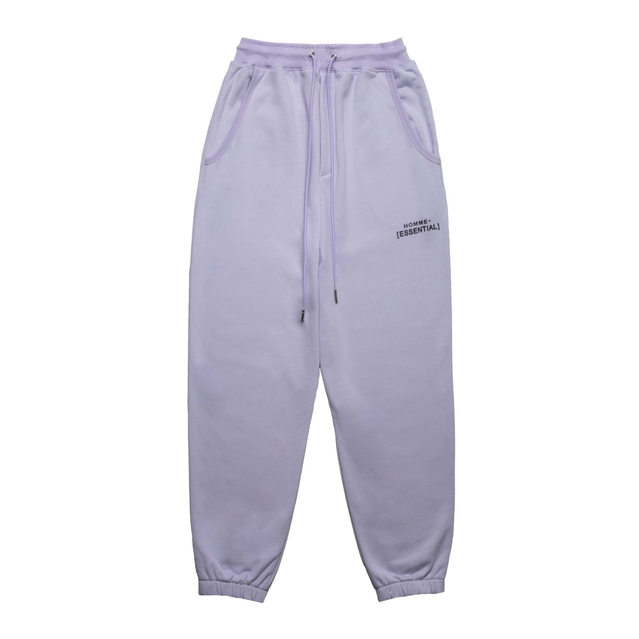 HOMME+ 'ESSENTIAL' Knit Jogger Lilac
