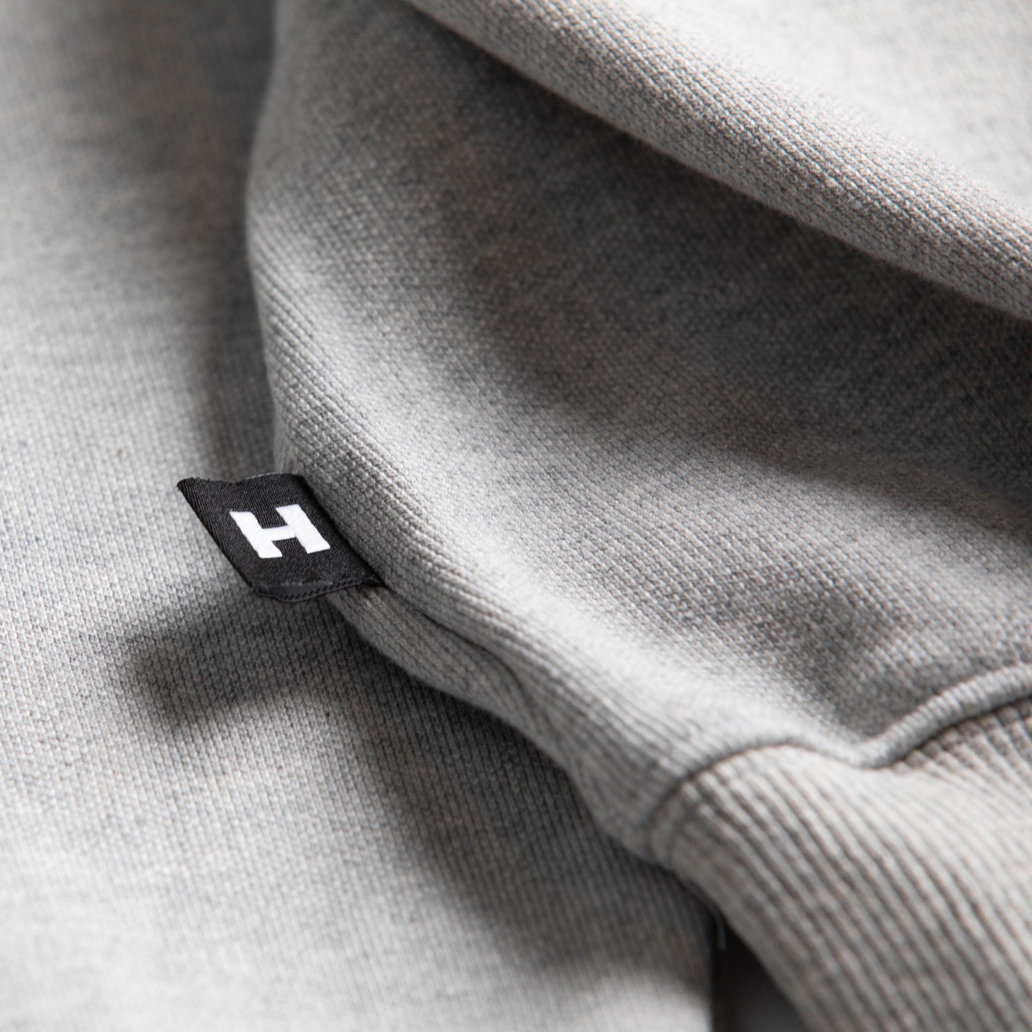 HOMME+ Atelier Embroidery Hoodie Heather Grey