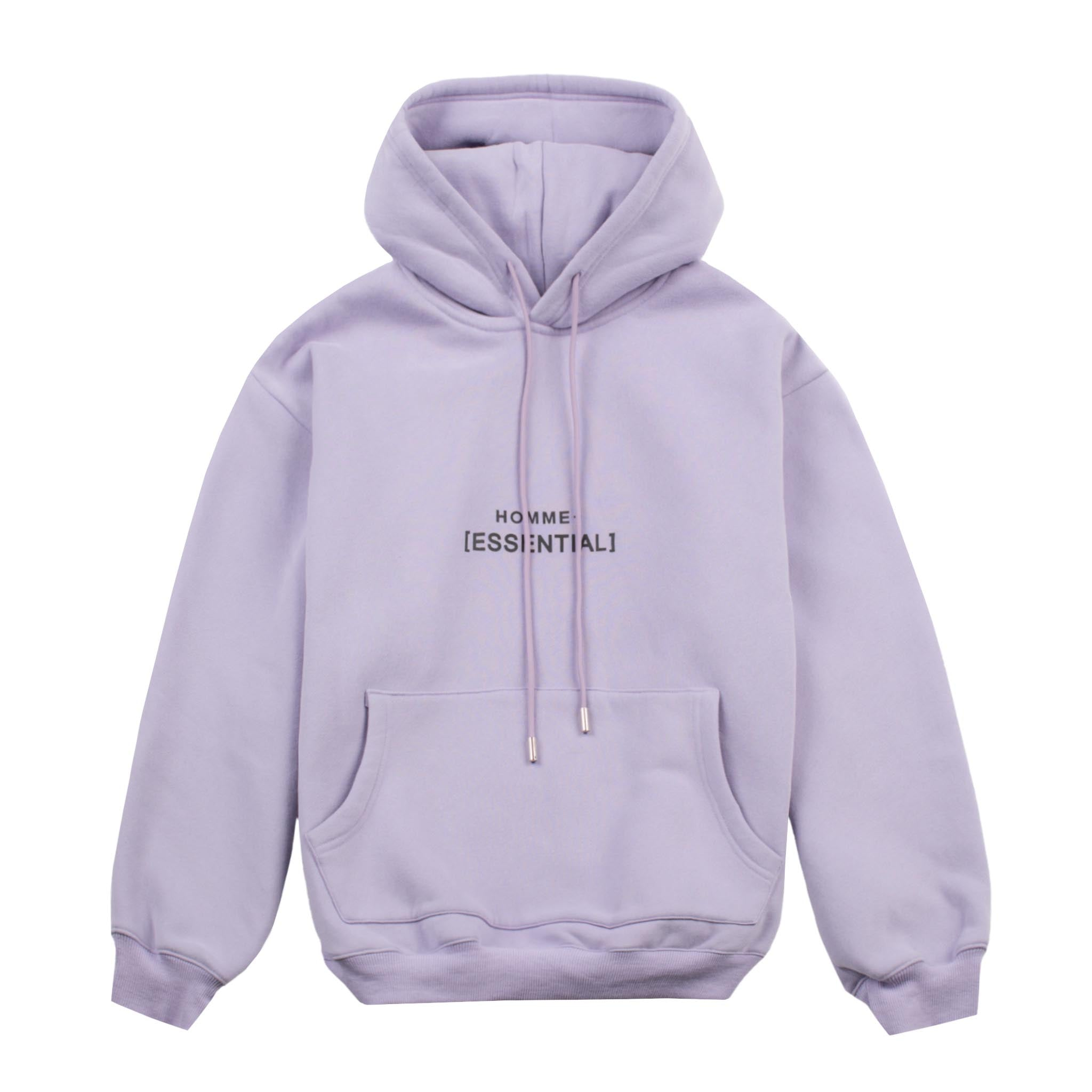 HOMME+ 'ESSENTIAL' Heavyweight Hoodie Lilac