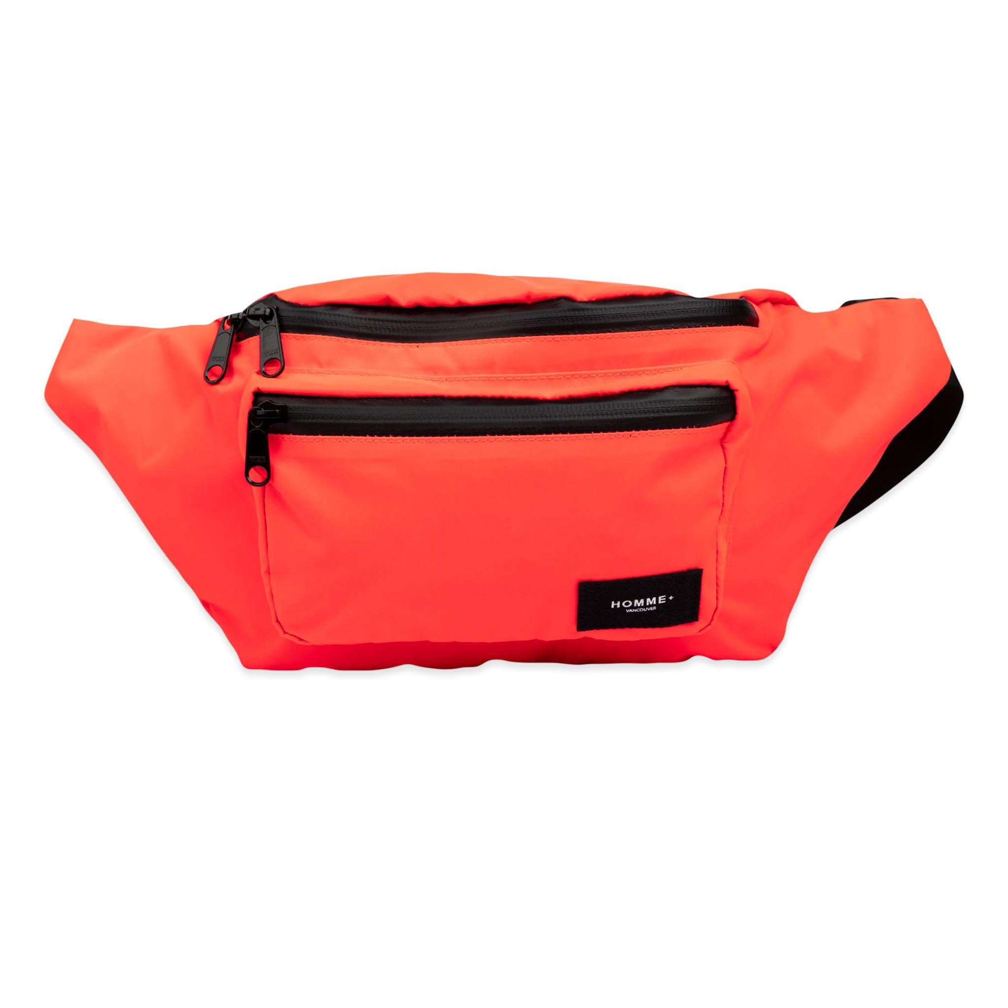 HOMME+ Large Nylon Waist Pack Infrared