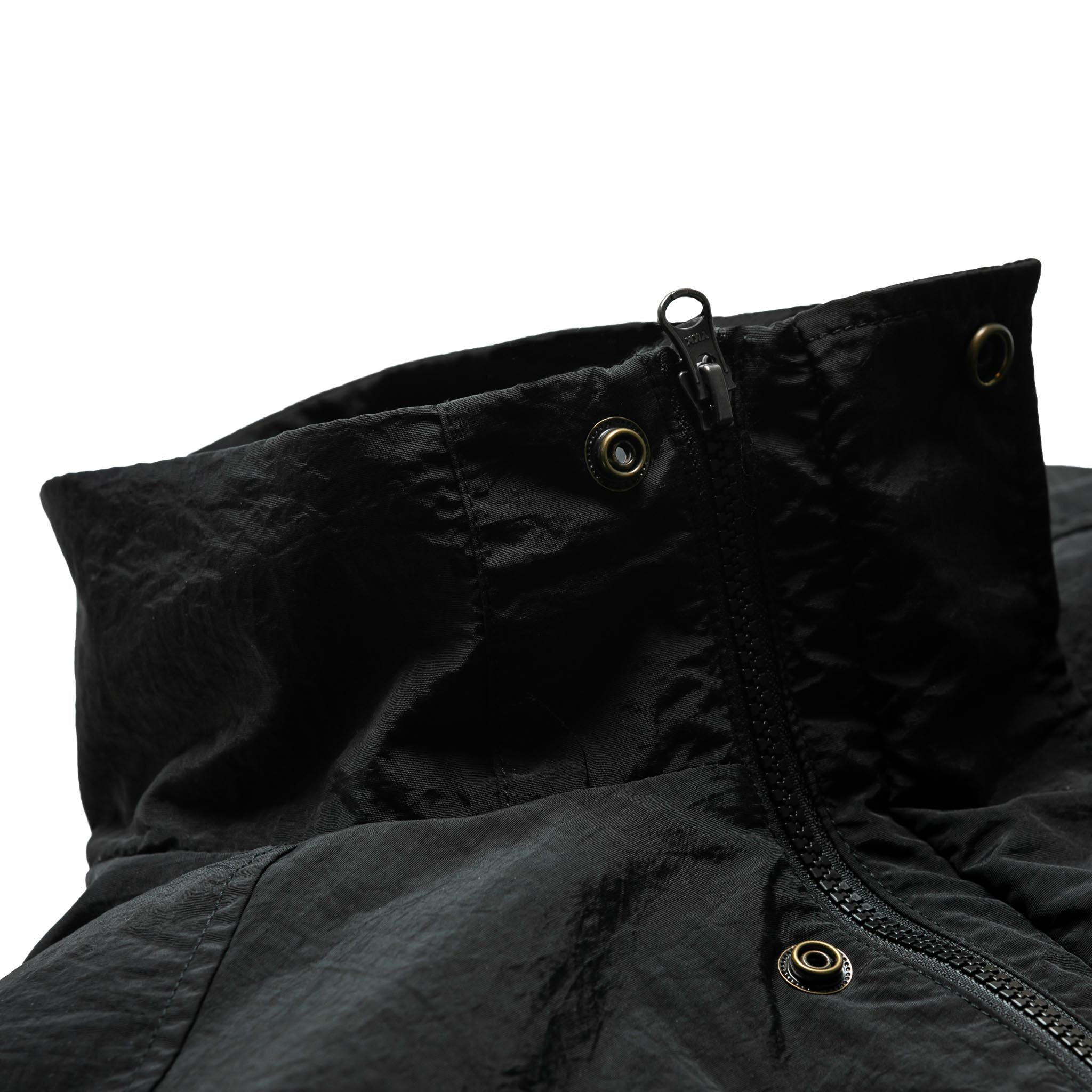 HOMME+ Quilted Bomber Black