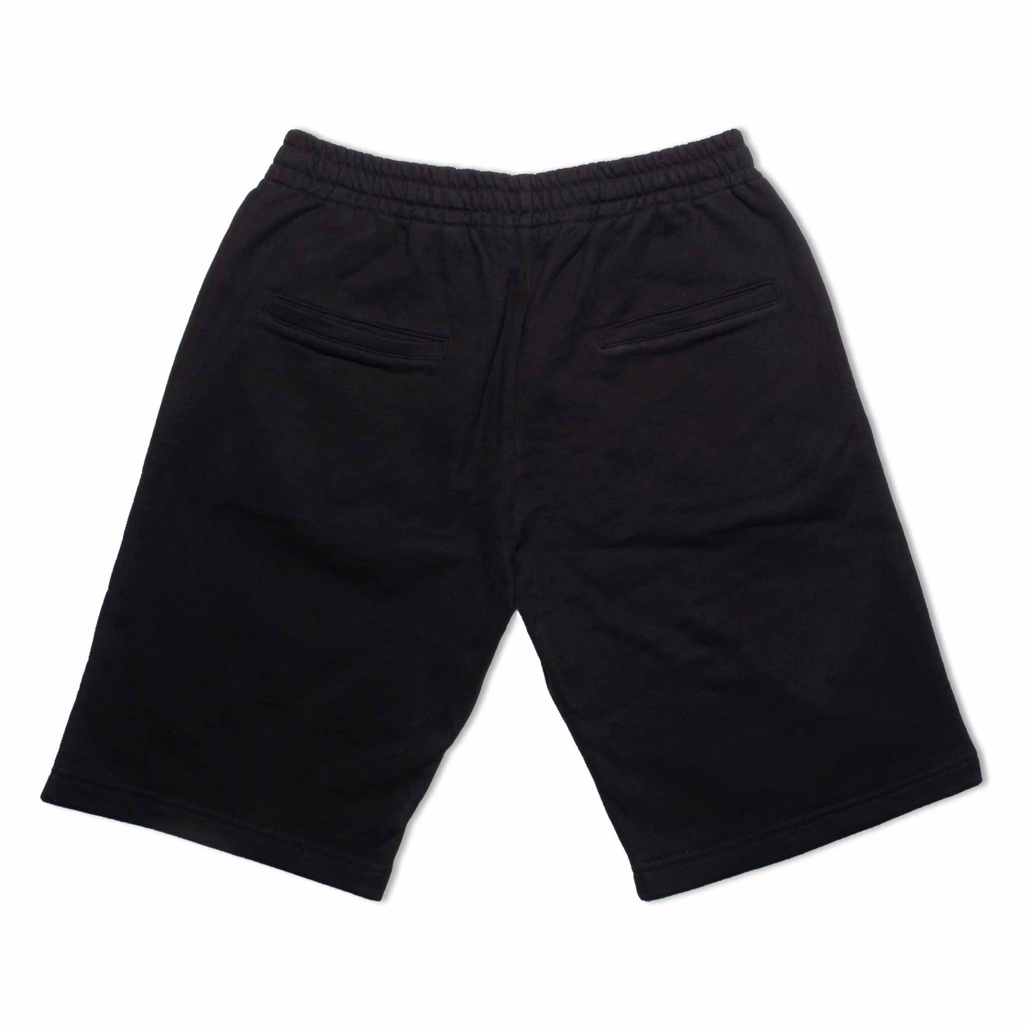 HOMME+ Embroidery Shorts Black