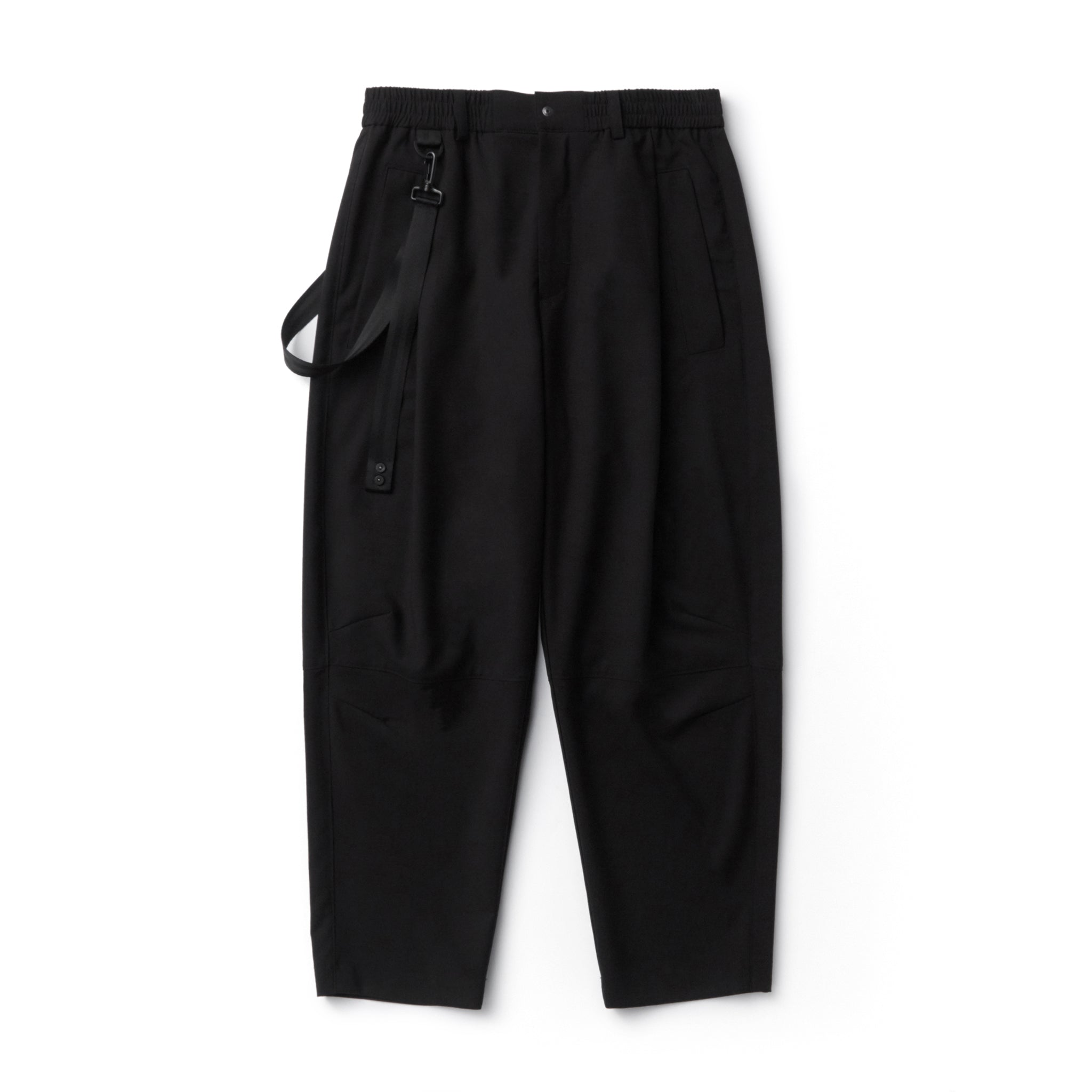 IISE Cropped Pants Black