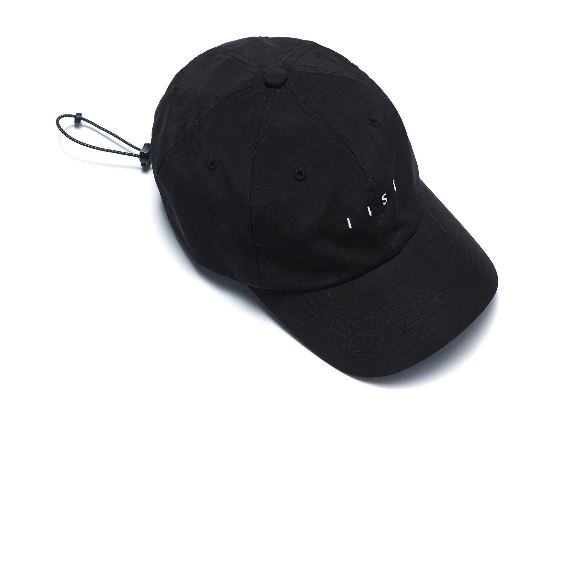 IISE D-Ring Cap Black