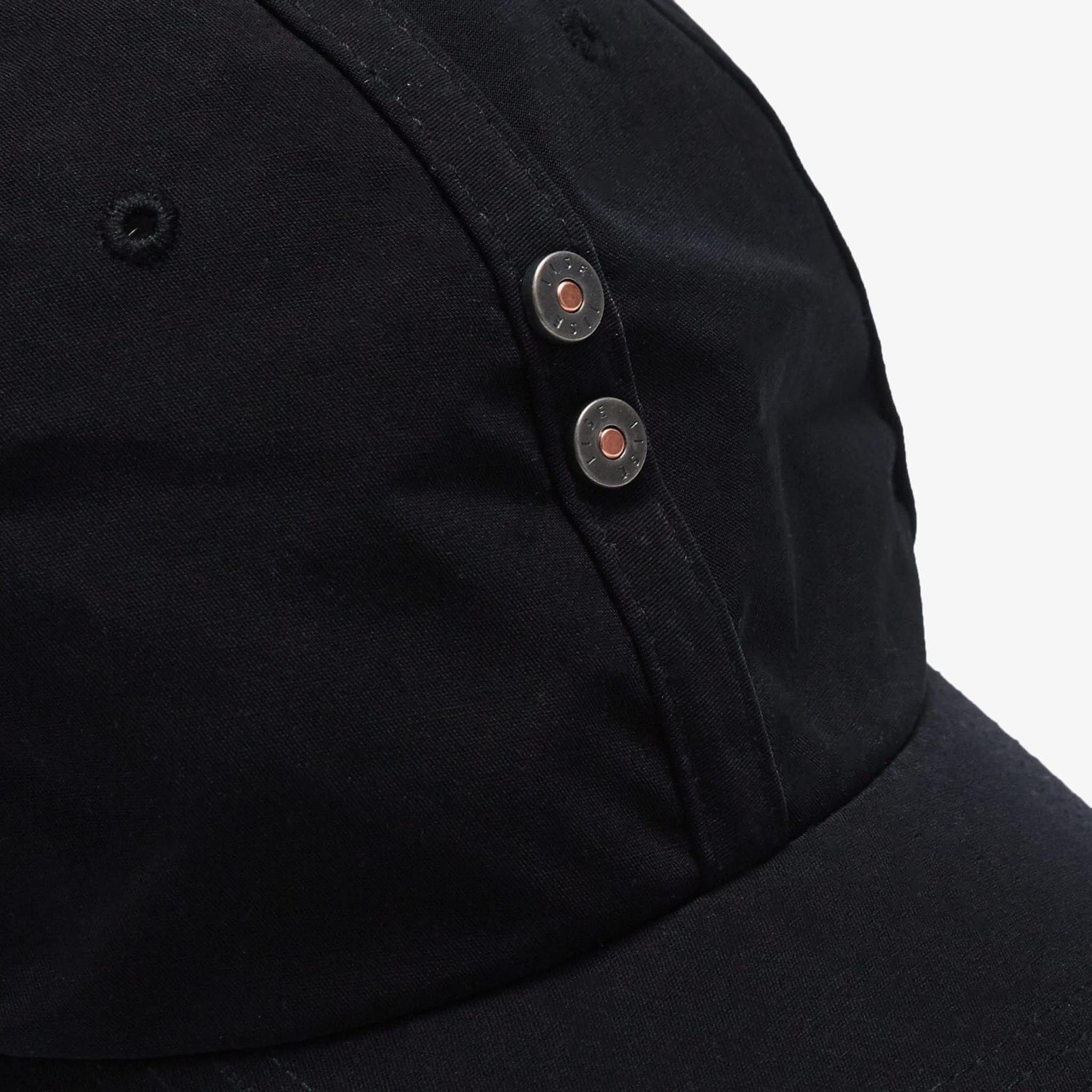 IISE Denim Rivet Cap Black