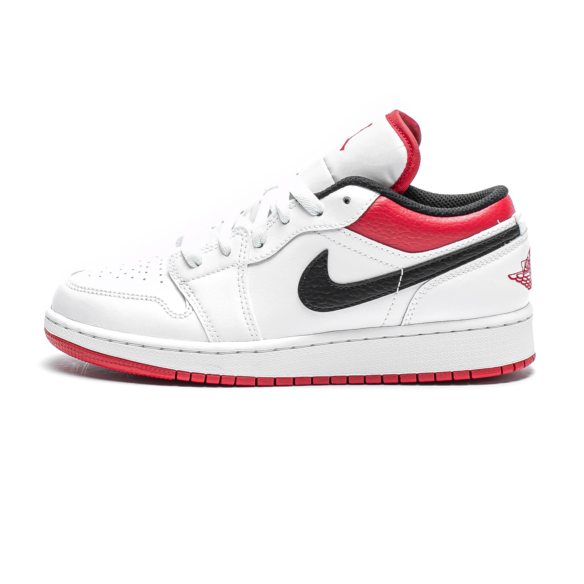 Air Jordan 1 Low 'White/Gym Red'