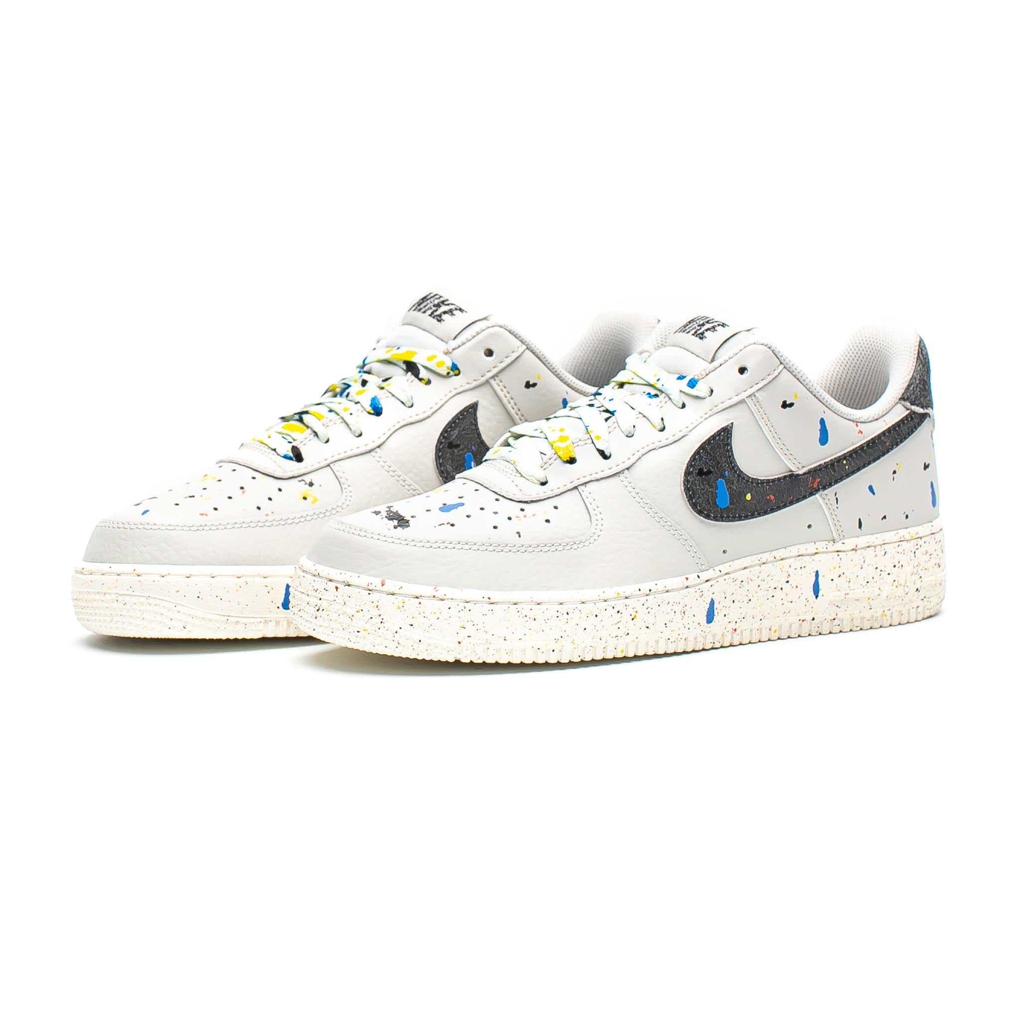 Nike Air Force 1 '07 LV8 'Paint Splatter' Light Bone