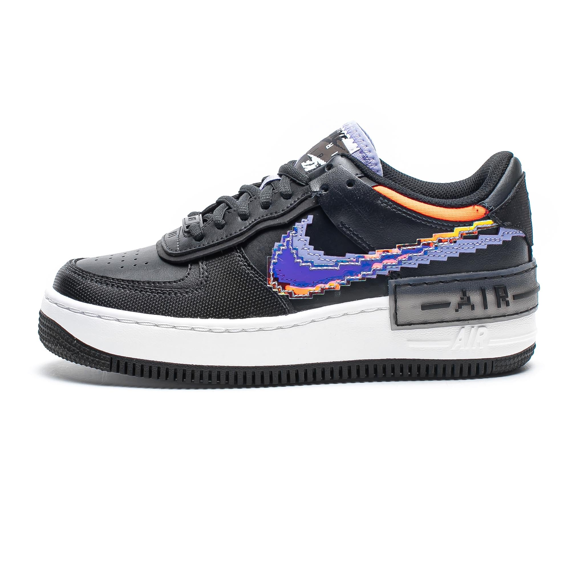 Nike Air Force 1 Shadow SE 'Pixel Swoosh' Black