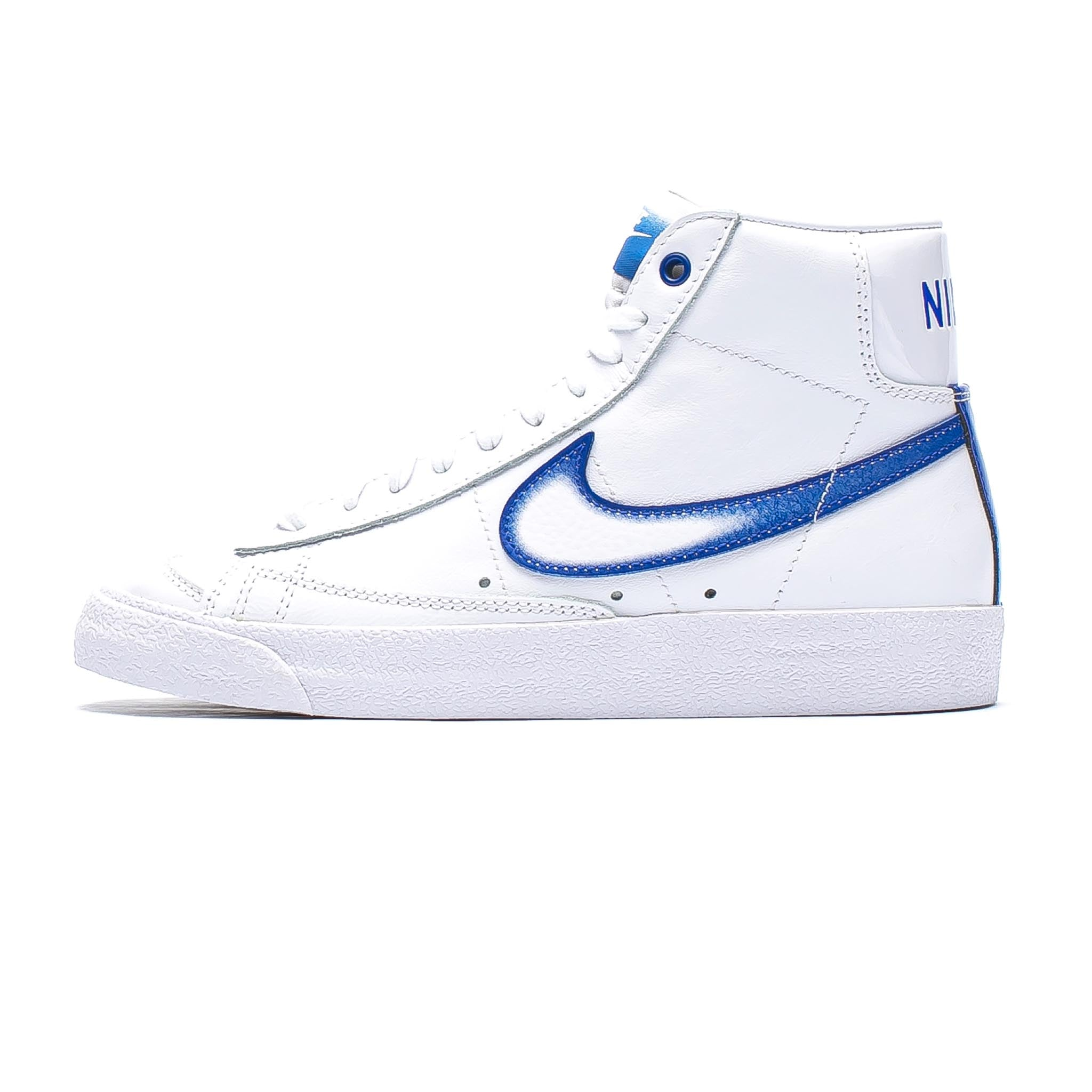 Nike Blazer Mid '77 'Airbrush' White/Royal