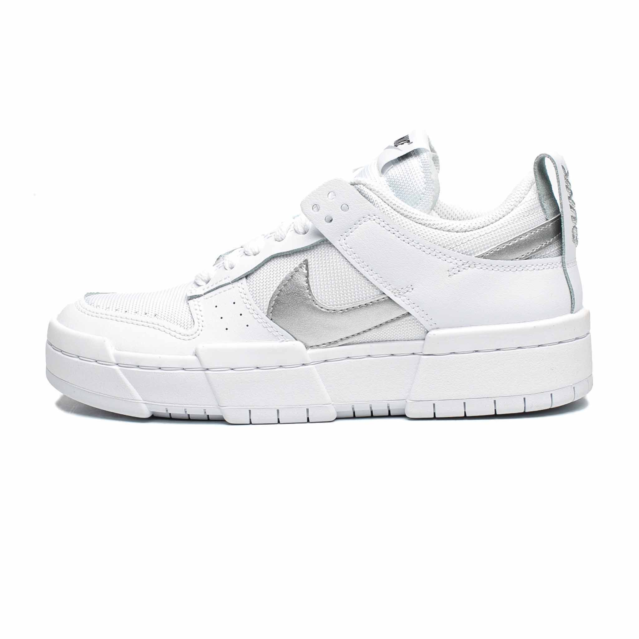 Nike Dunk Low Disrupt 'White/Metallic Silver'