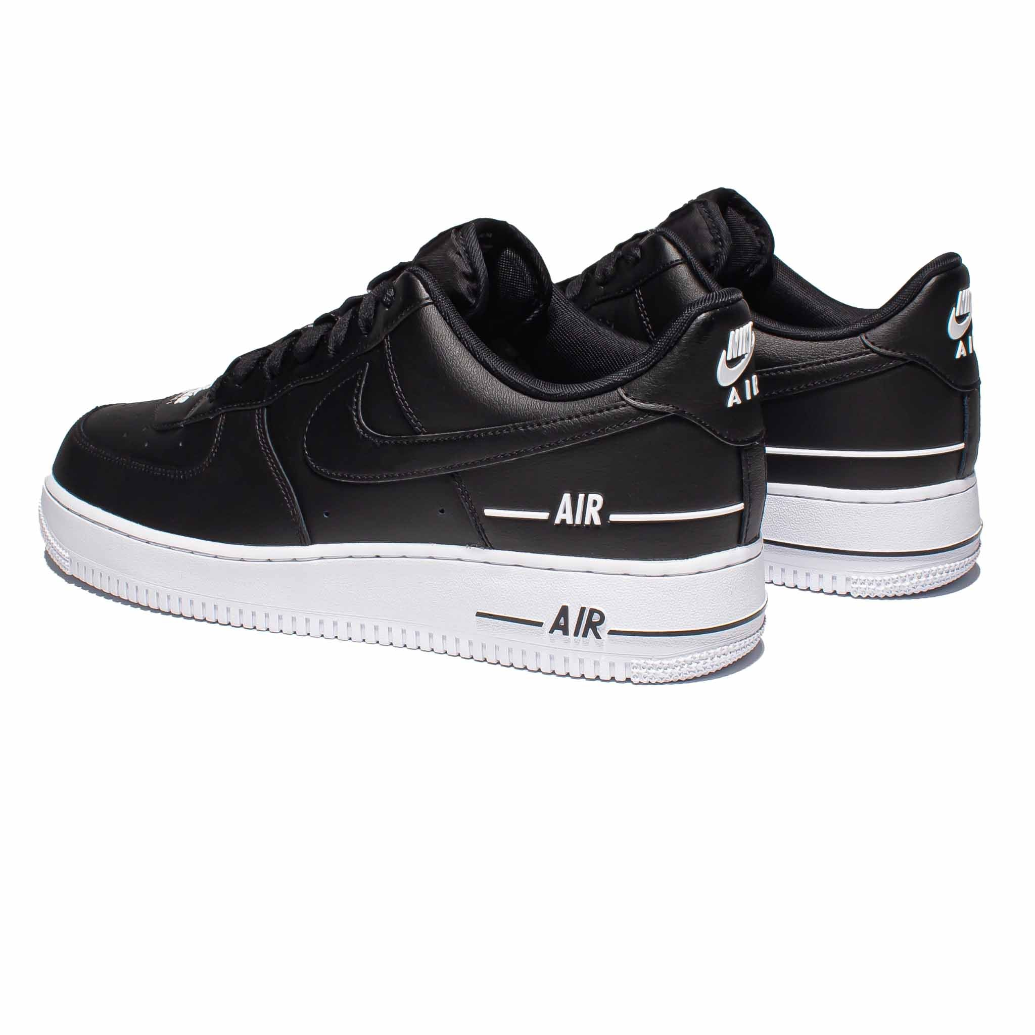 Nike Air Force 1 '07 LV8 3 'Double Air' Black