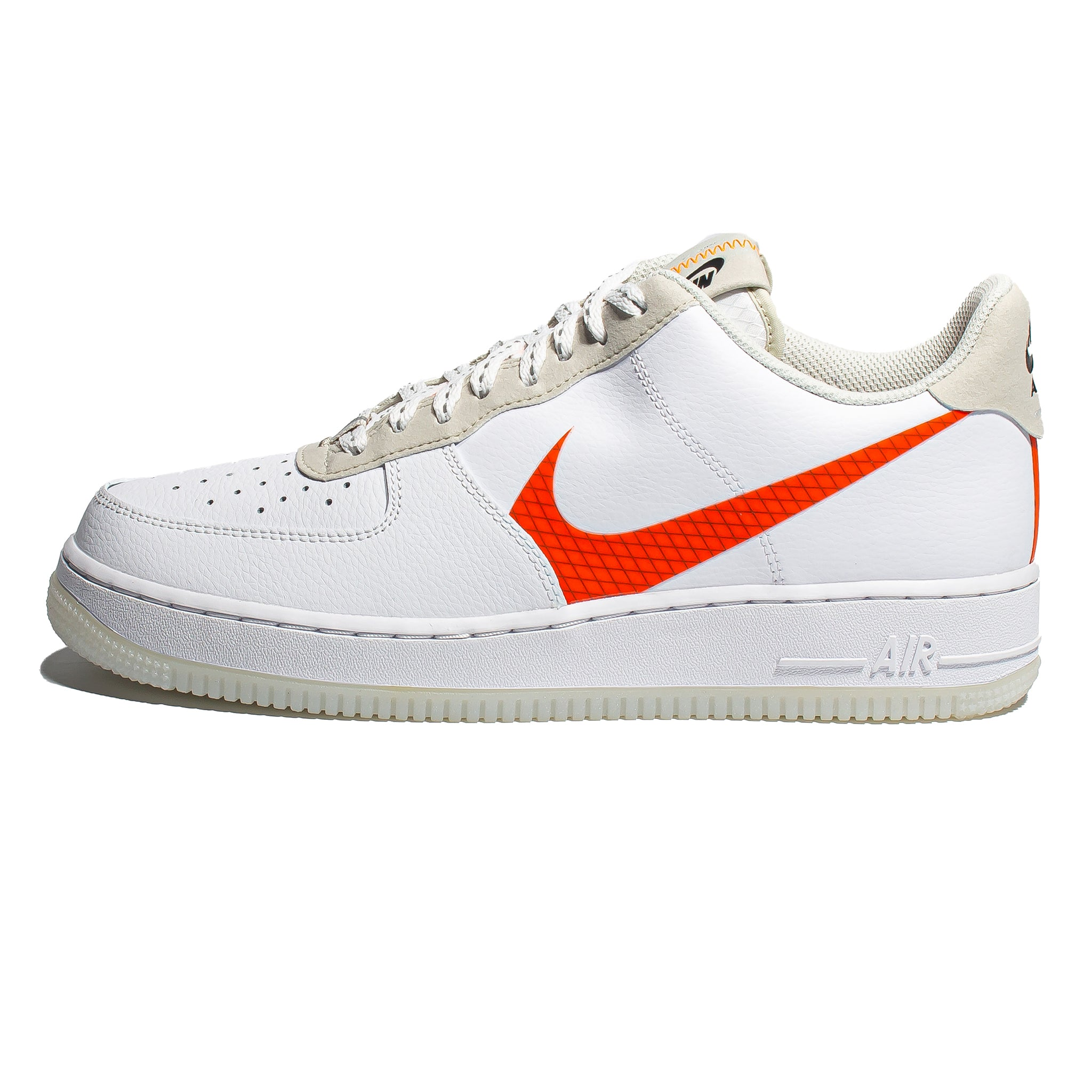 Nike Air Force 1 '07 LV8 3 'White/Total Orange'