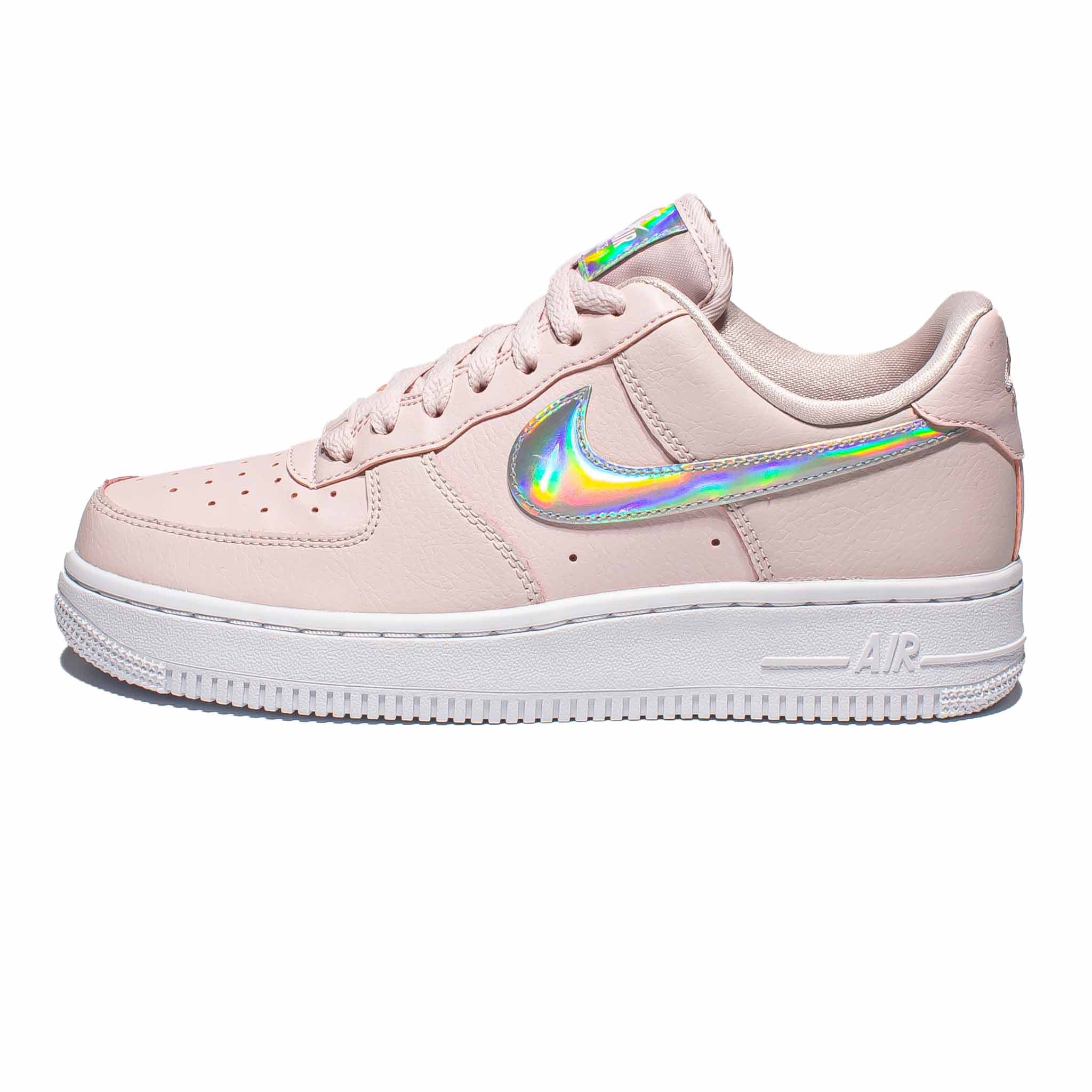 Nike Air Force 1 '07 Low 'Iridescent Swoosh' Pink