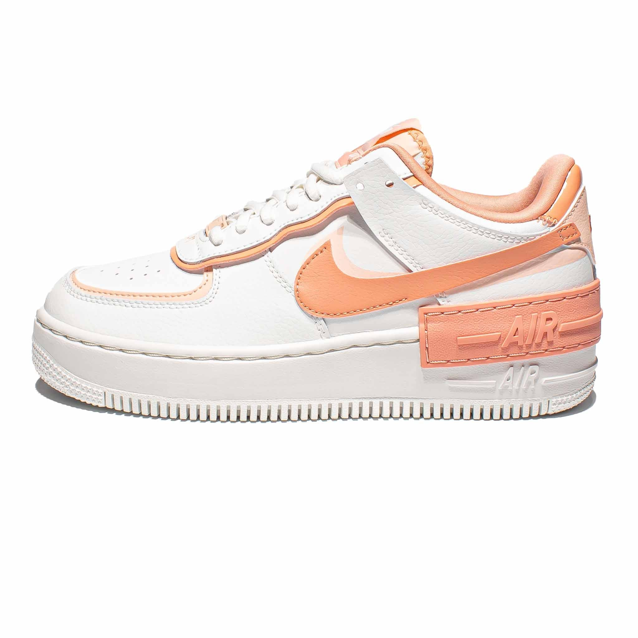 Nike Air Force 1 Shadow Washed Coral Sneakerbox It's detailed with subtle hits of coral pink and unmissable hits of pollen orange that accentuate the. sneakerbox