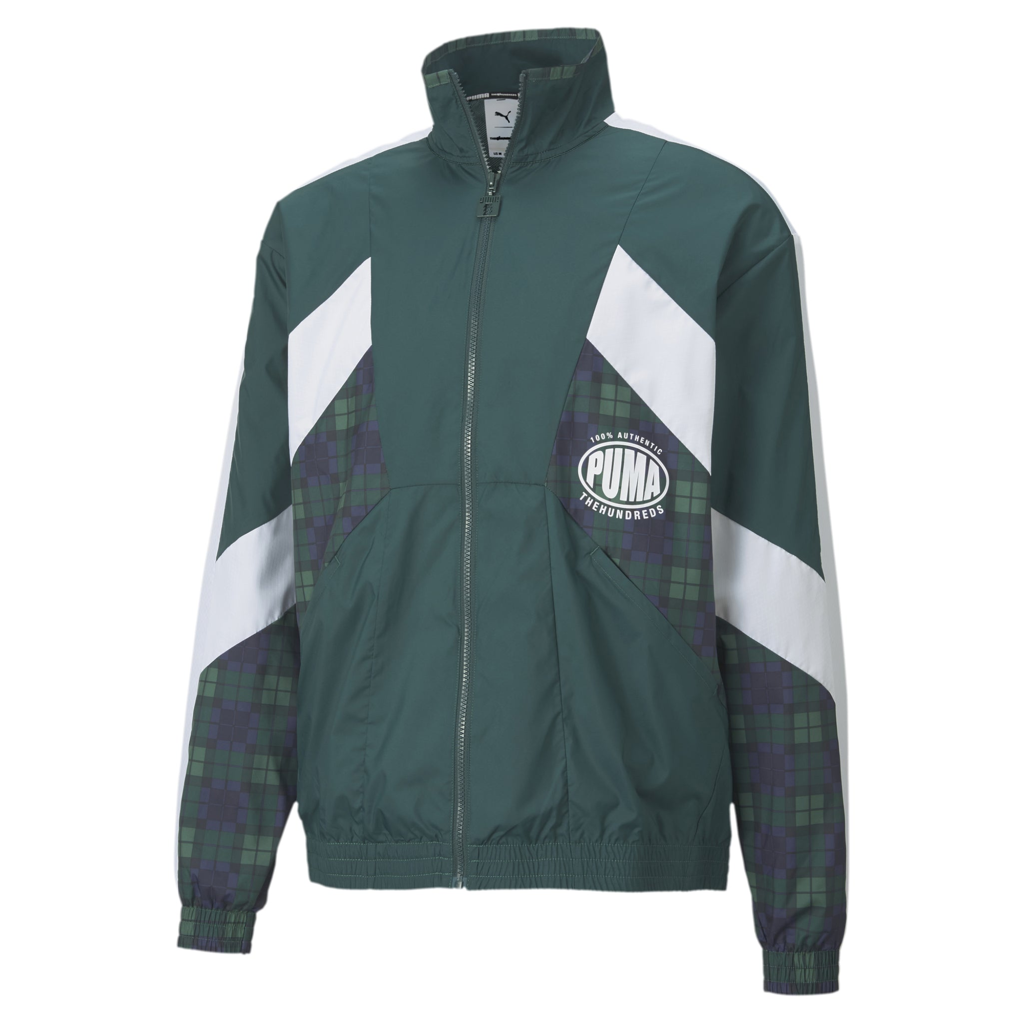 Puma x THE HUNDREDS Track Jacket Green