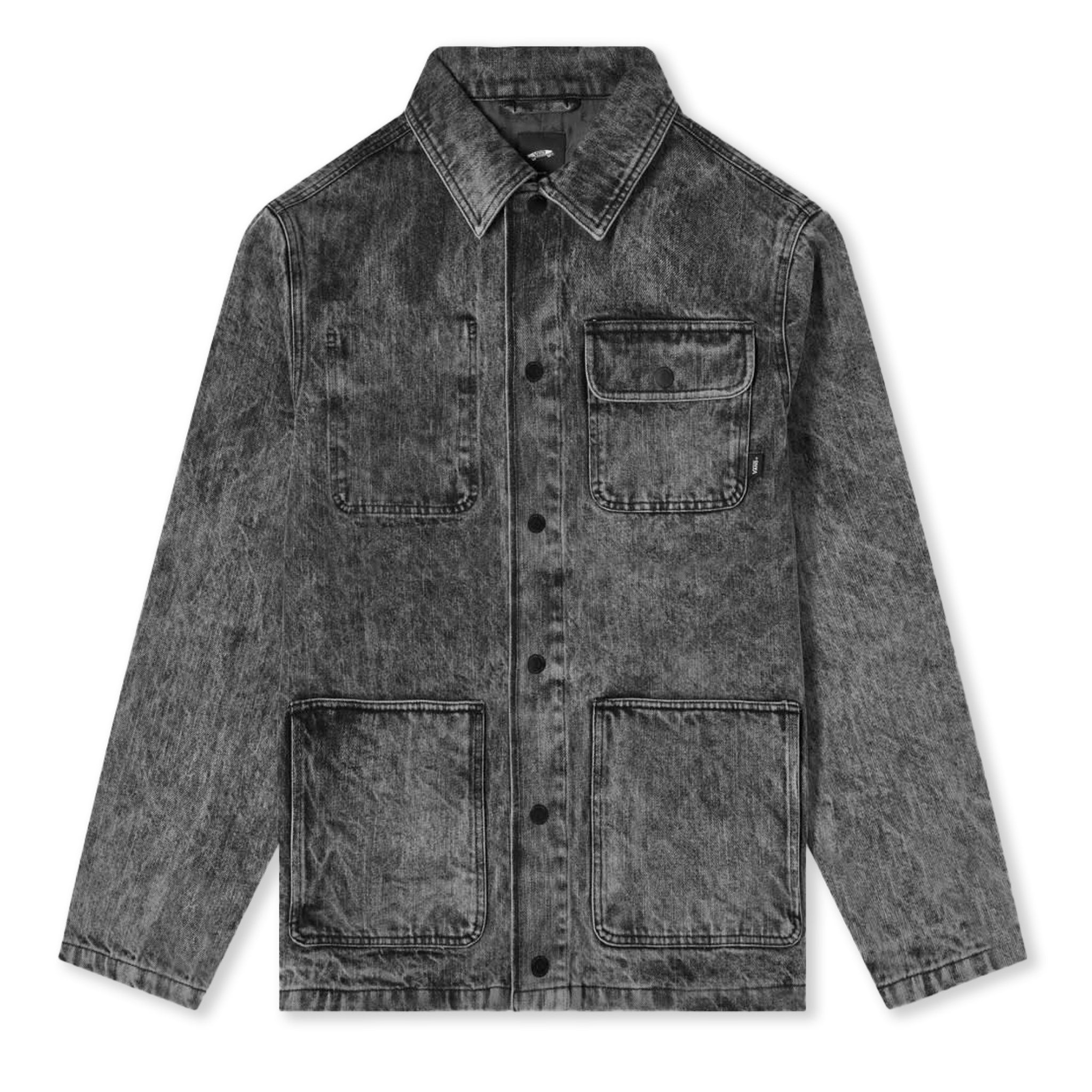 Vans Vault x Jim Goldberg Denim Chore Jacket Black