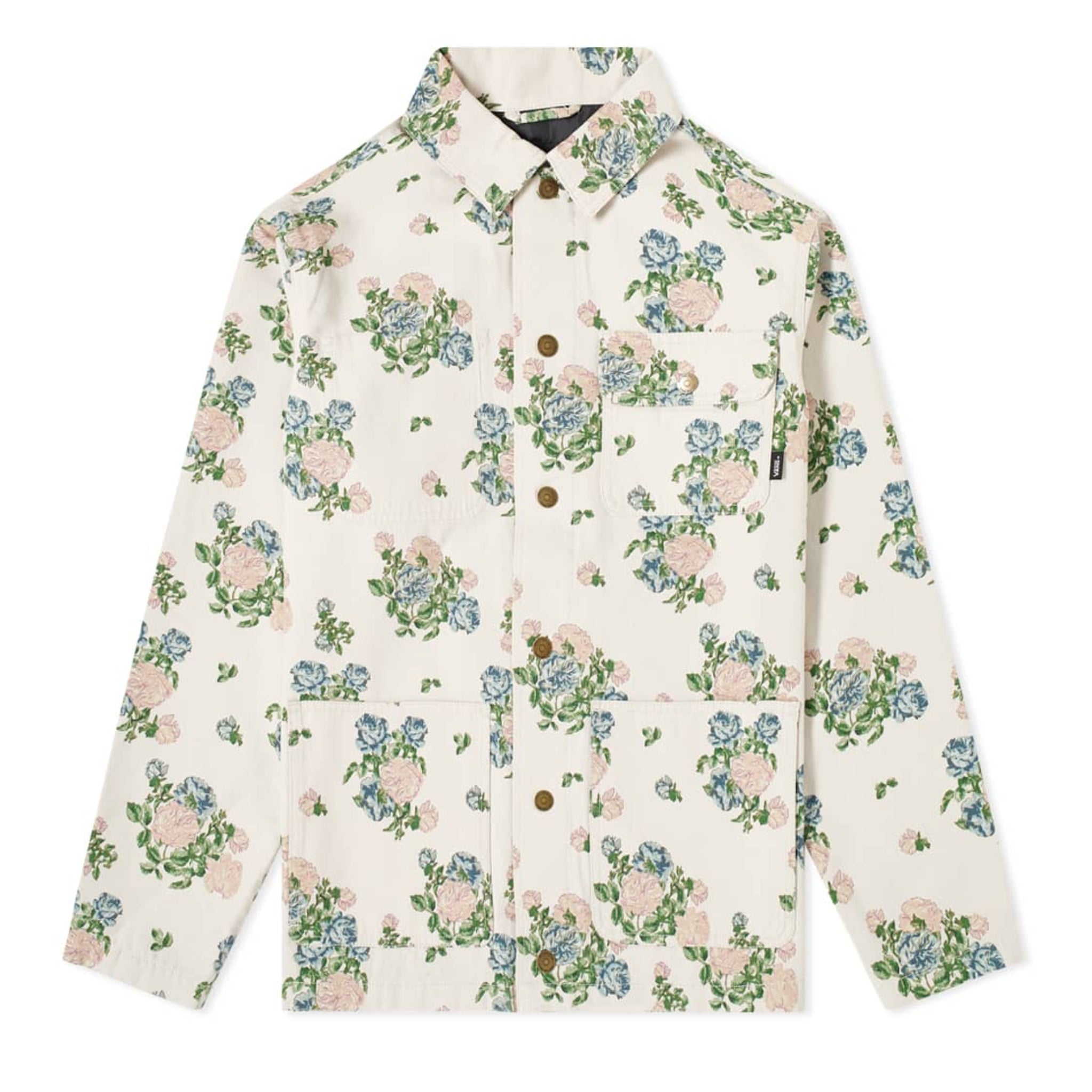 Vans Vault x Jim Goldberg Denim Chore Jacket Floral