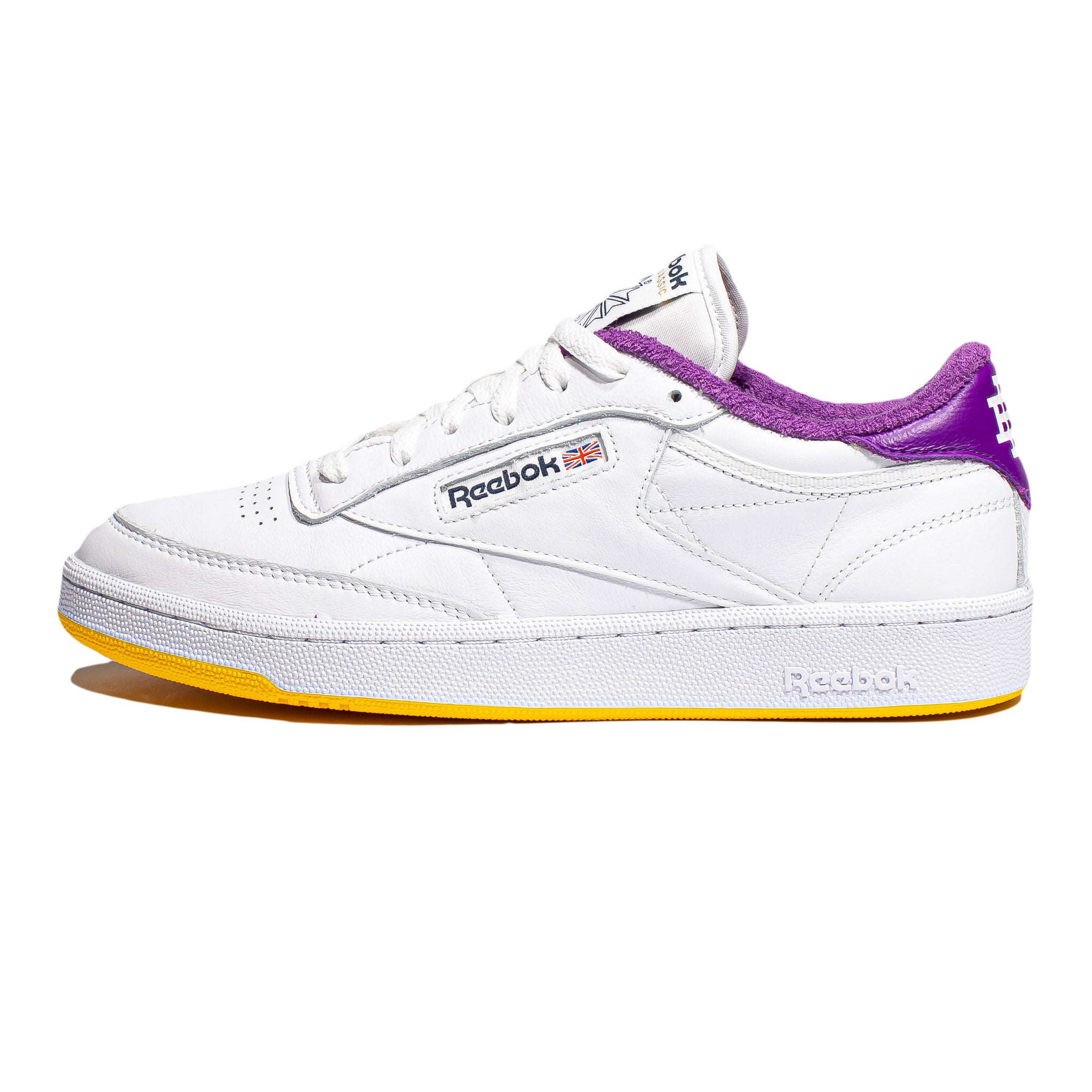 Reebok x Eric Emanuel Club C 85 White/Purple