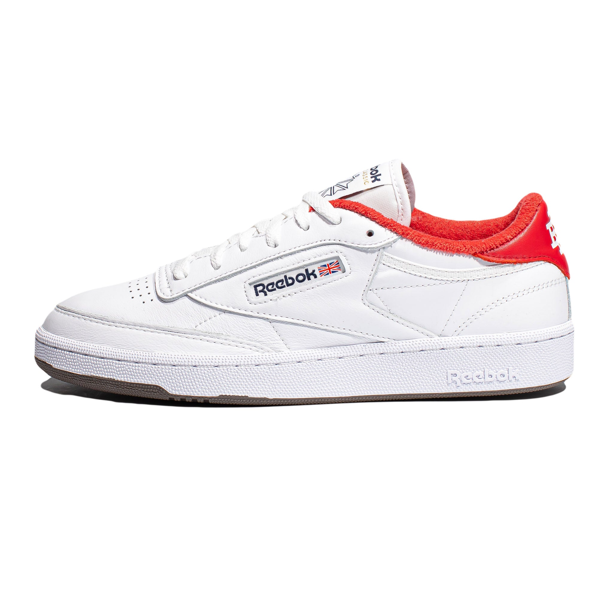 Reebok x Eric Emanuel Club C 85 White/Red