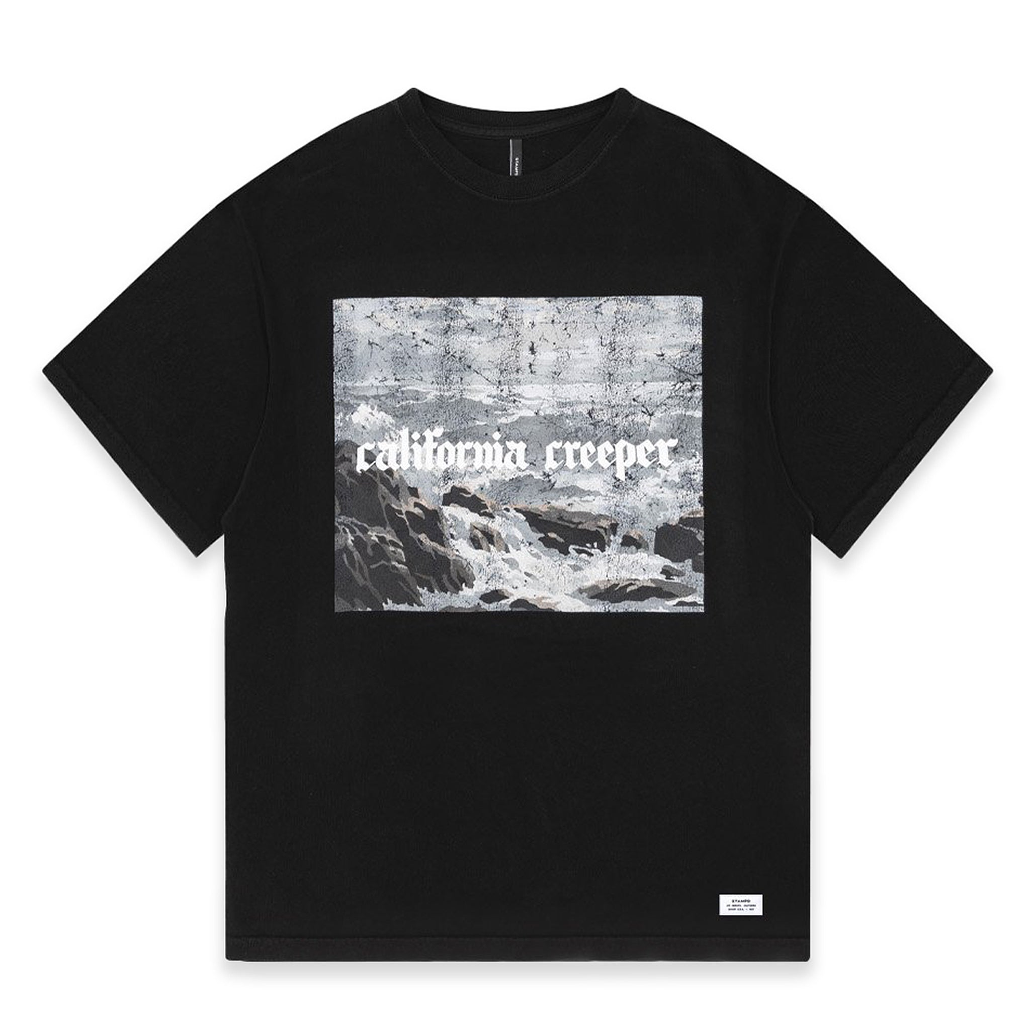 STAMPD California Creeper Tee Black