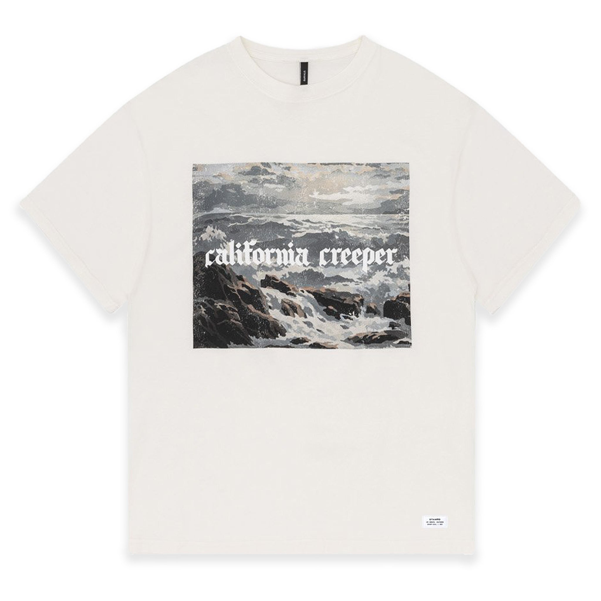 STAMPD California Creeper Tee White