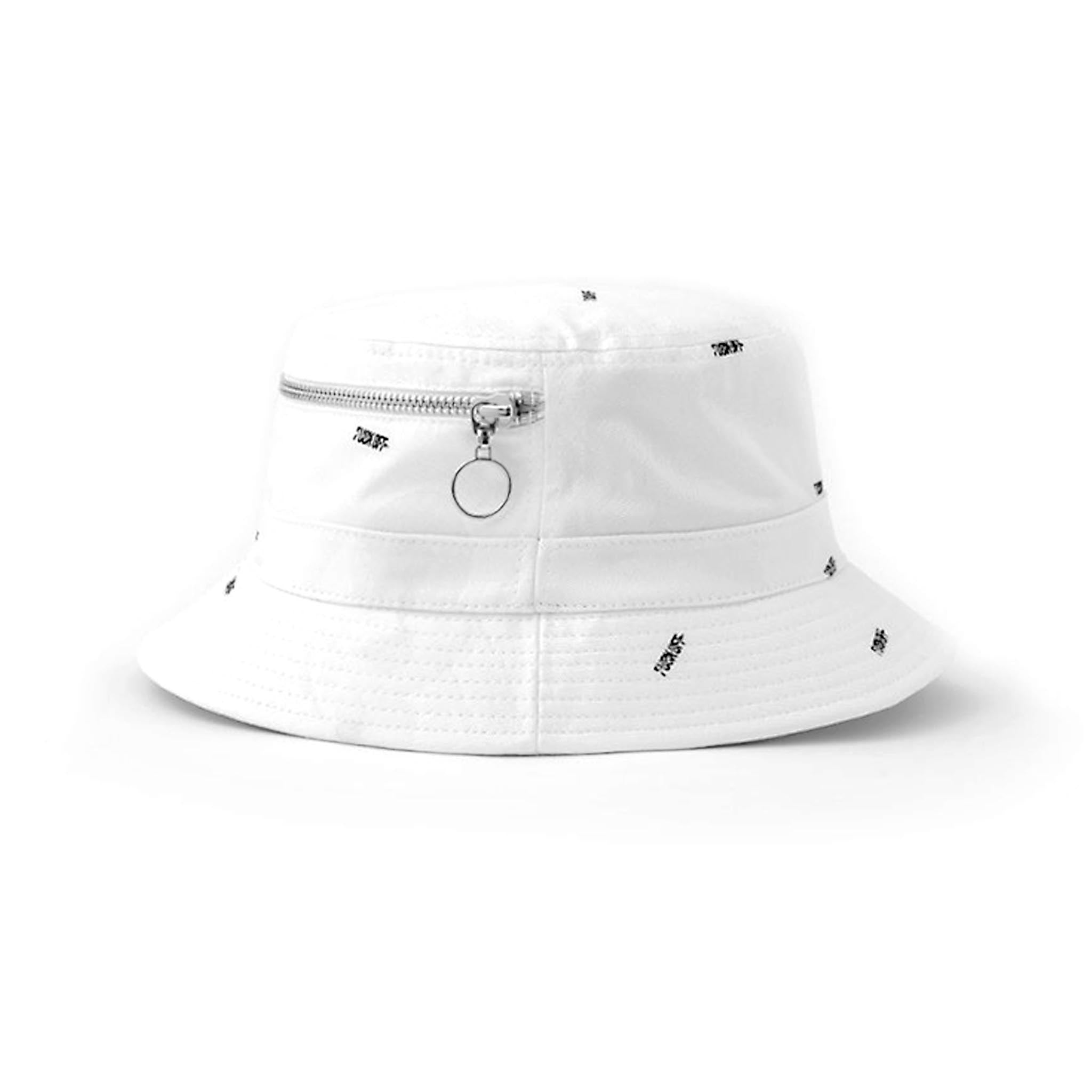 STAMPD F*** Off Bucket Hat White