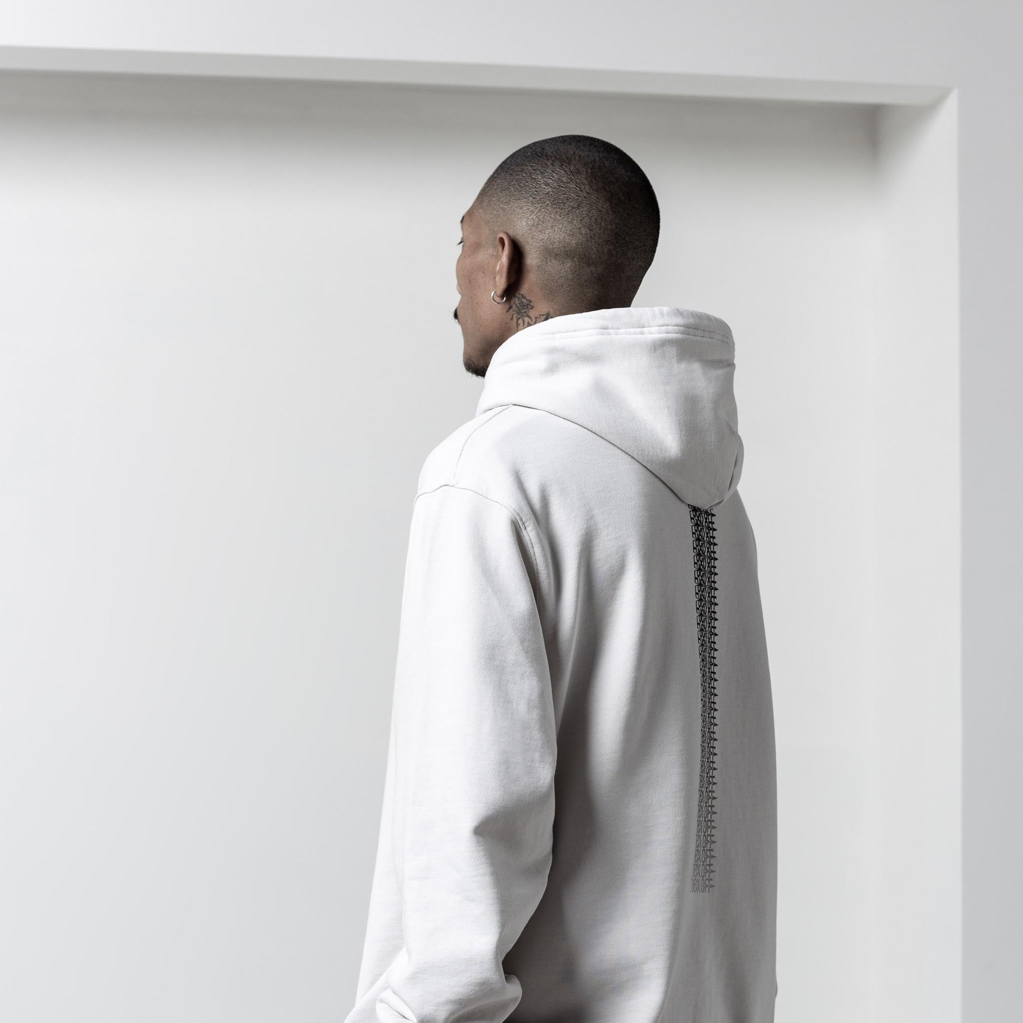 STAMPD F*** Off Drag Hoodie Cement