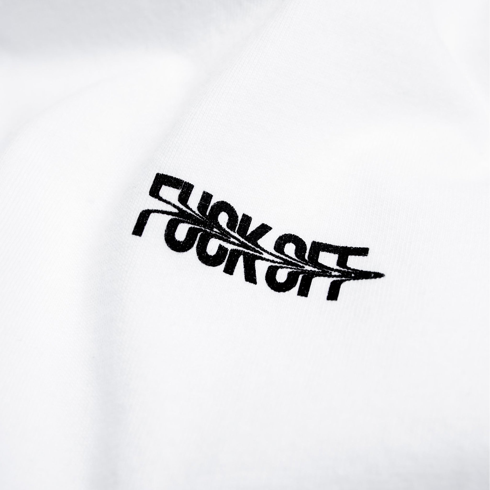 STAMPD F*** Off Tee White