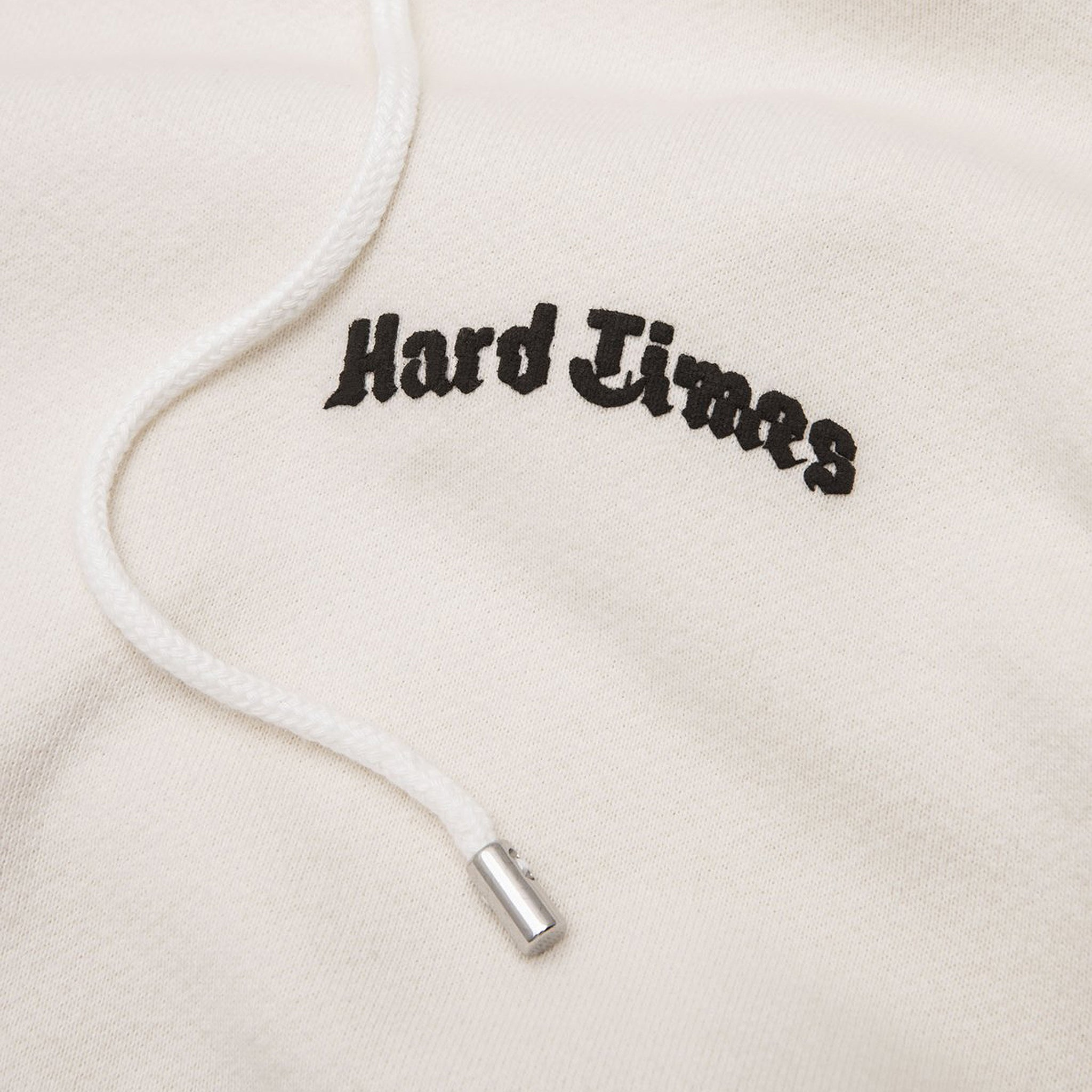 STAMPD Hard Times Hoodie Faded White