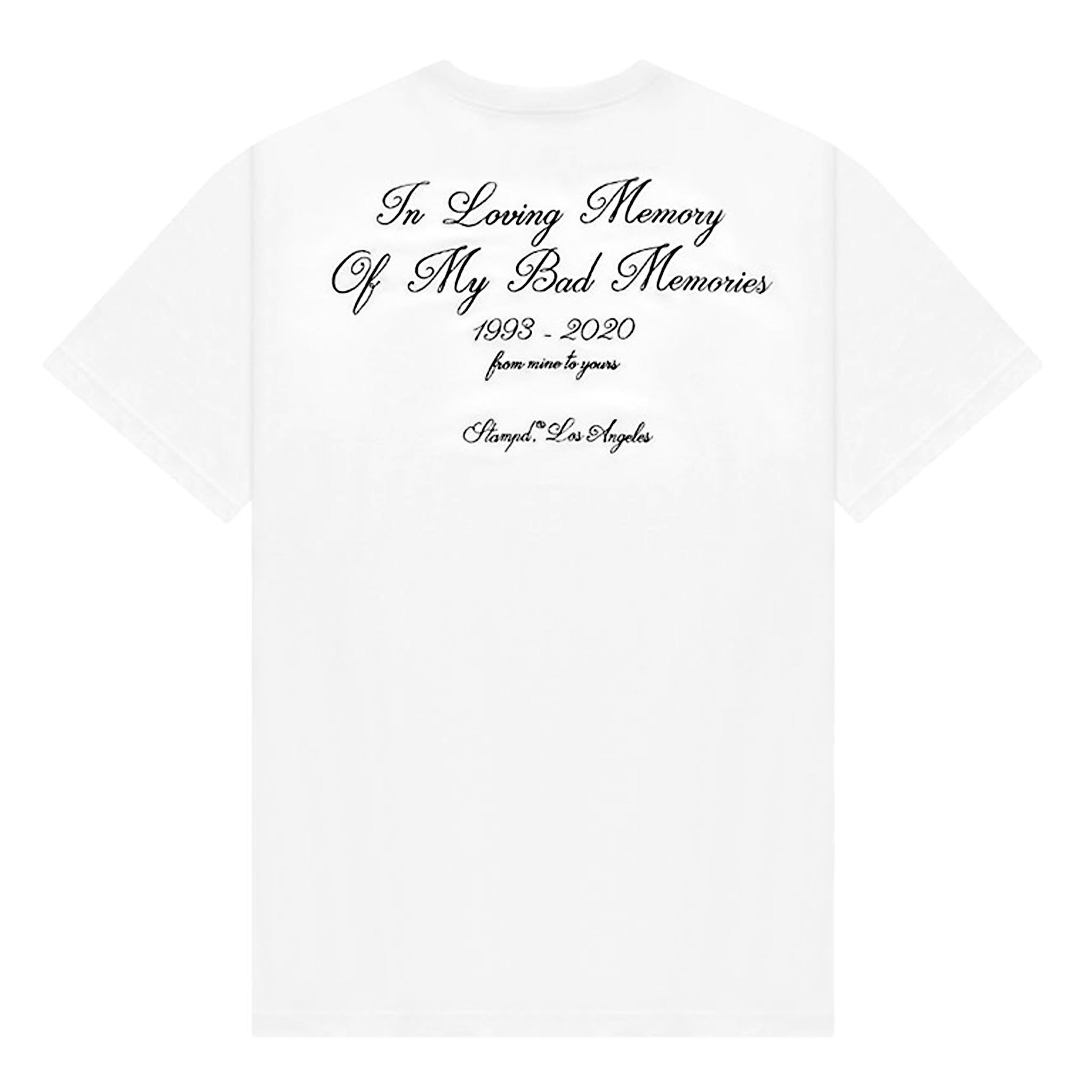STAMPD In Loving Memory Tee White