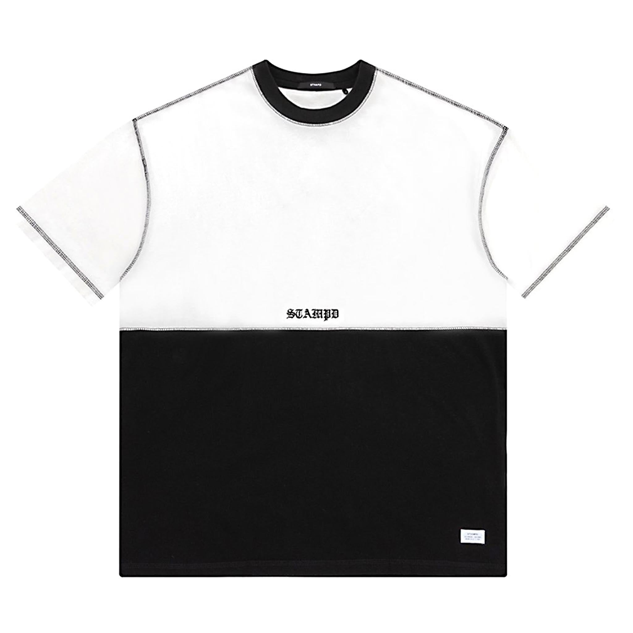 STAMPD MYB Colorblocked Tee Split
