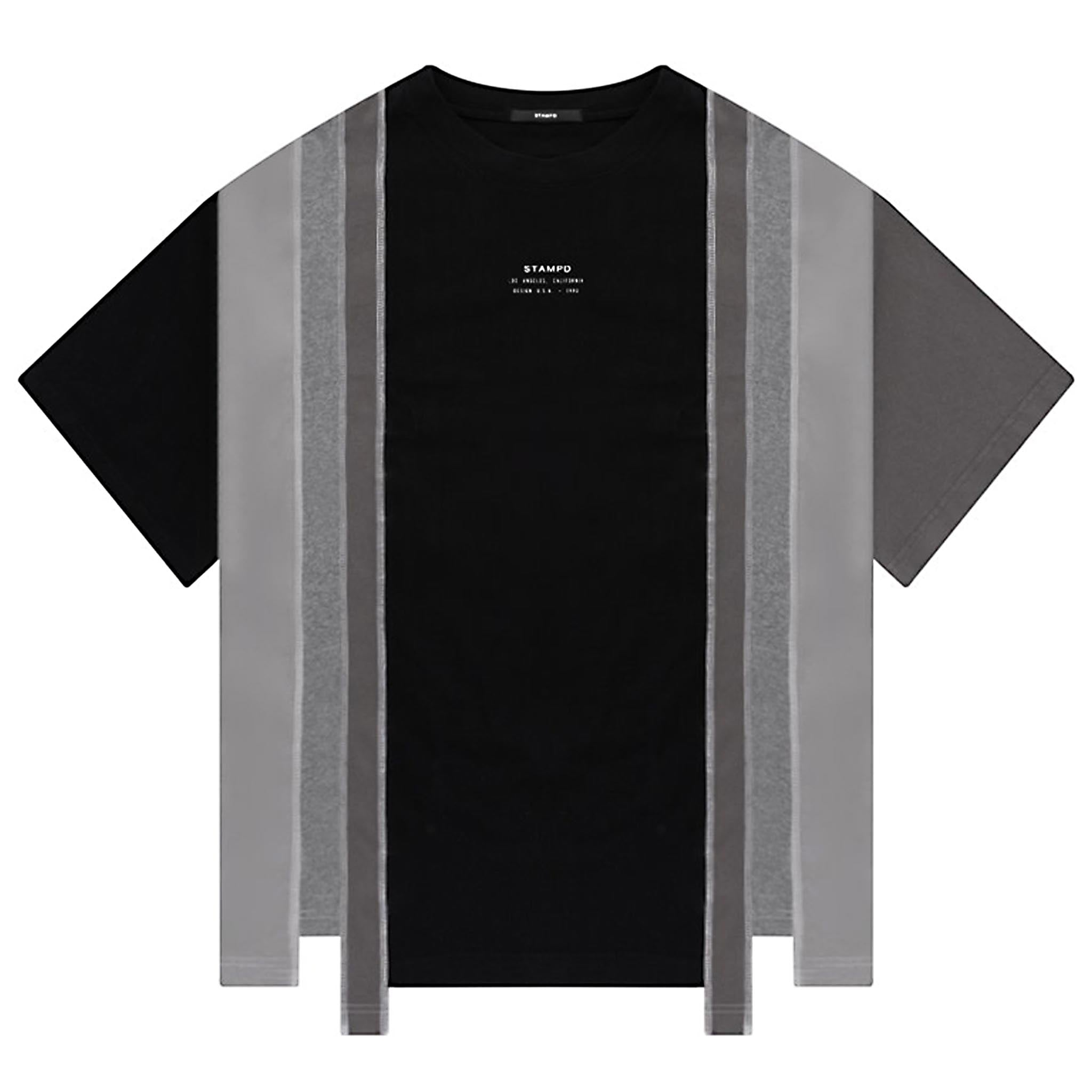 STAMPD Reconstructed Tee Black
