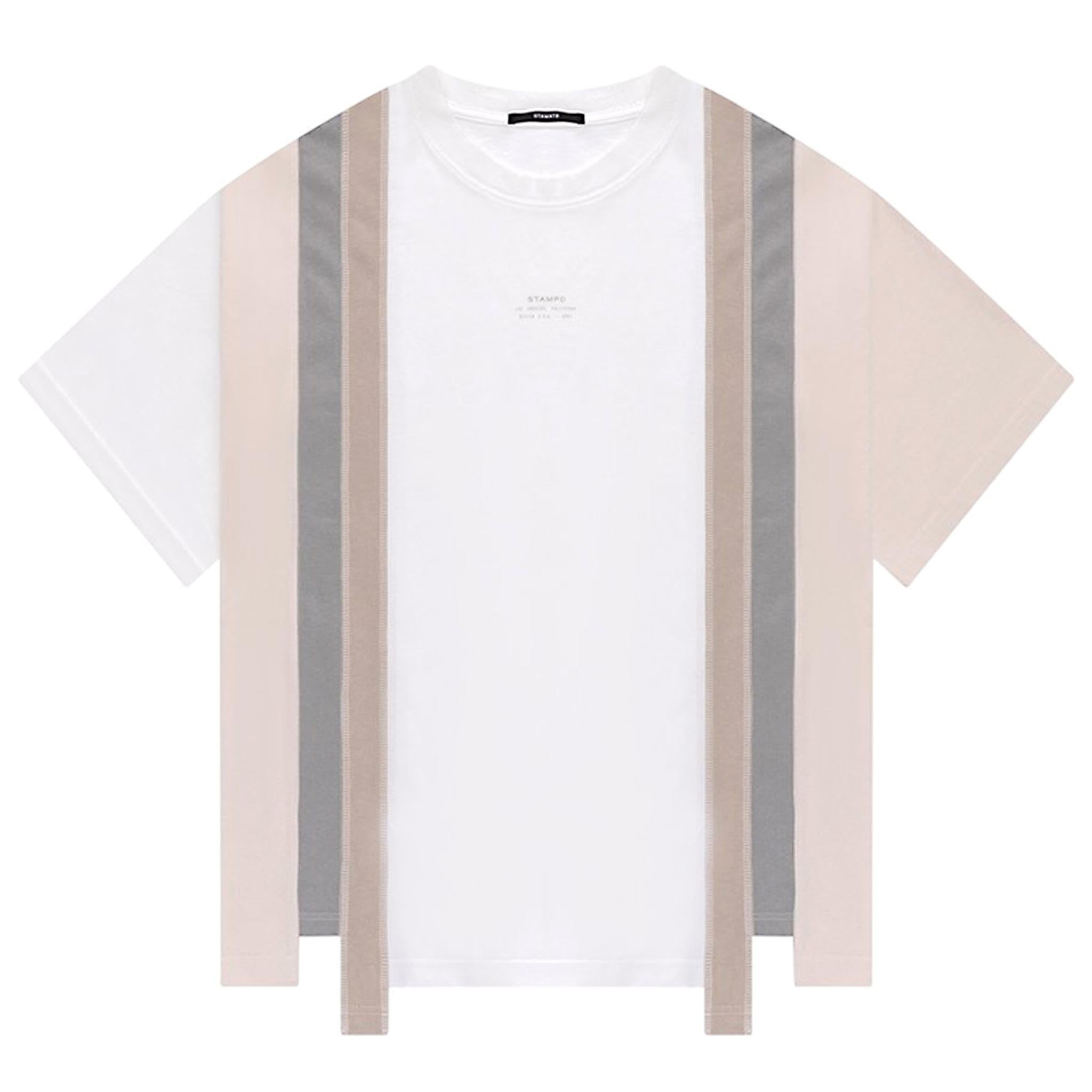 STAMPD Reconstructed Tee White