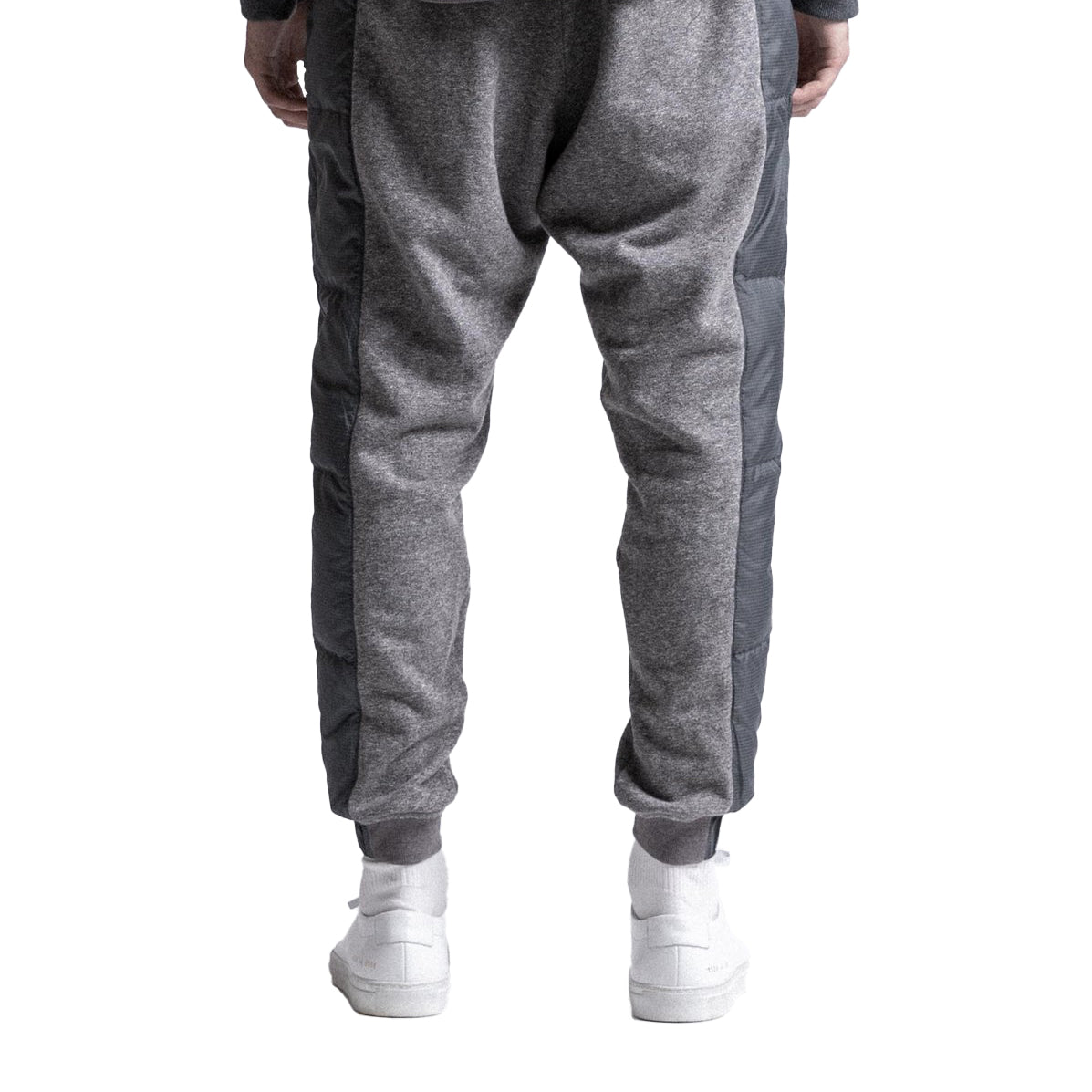 STAMPD Stacked Puffer Sweatpant Grey