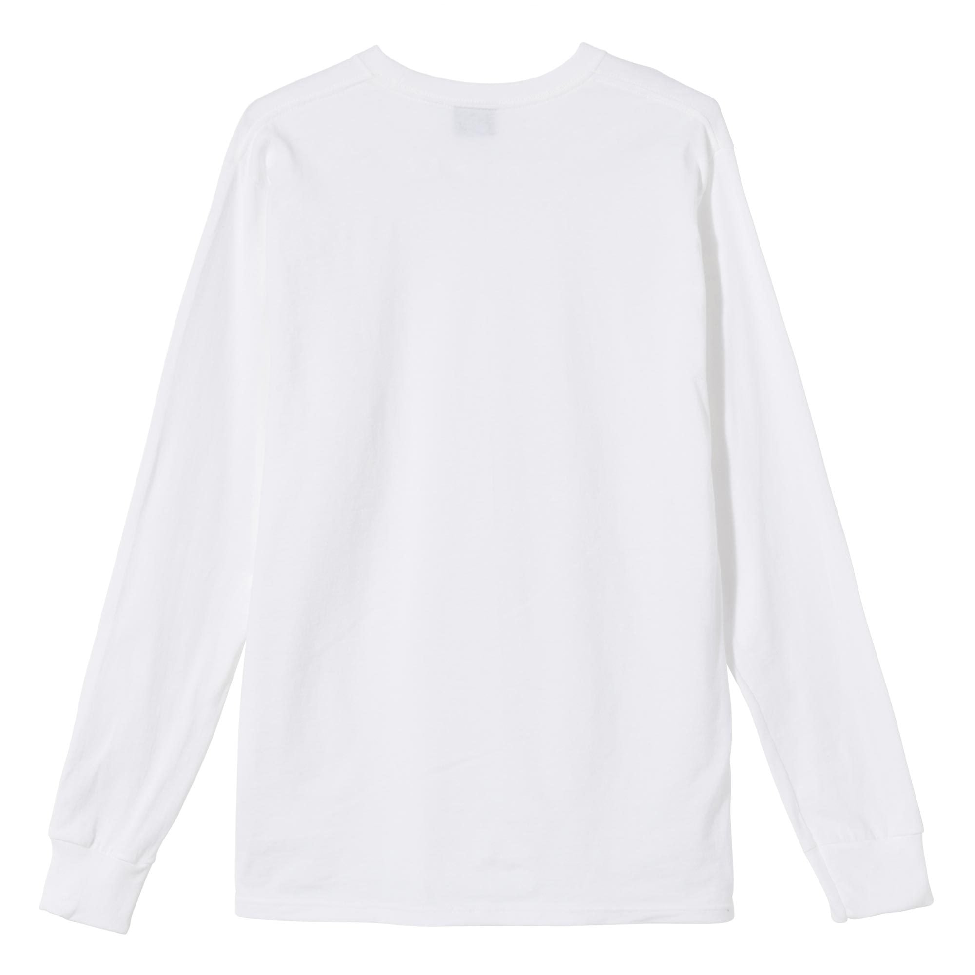 Stussy Metamorphis Long Sleeve Tee White
