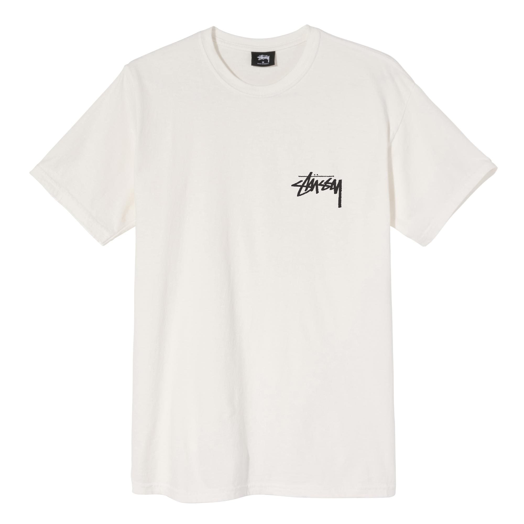 Stussy Peace & Love Pigment Dyed Tee Natural