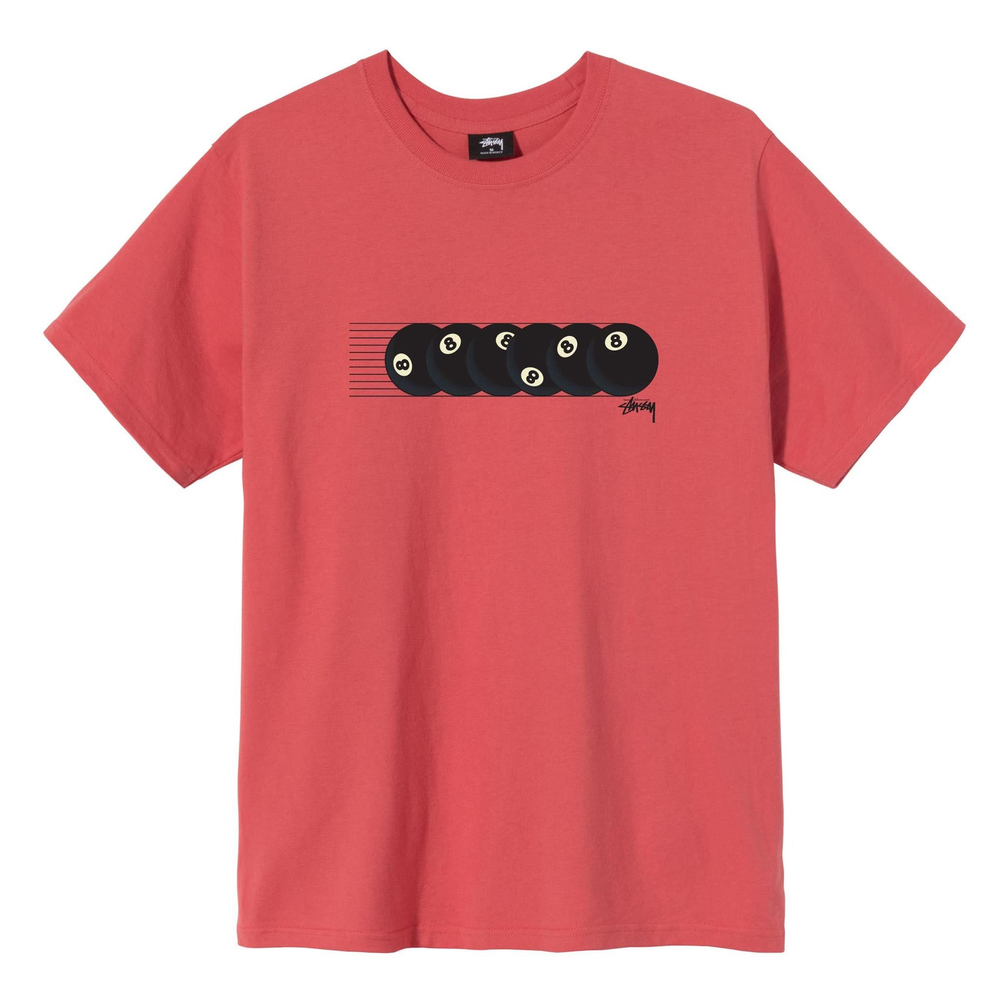 Stussy Rollin' Tee Red