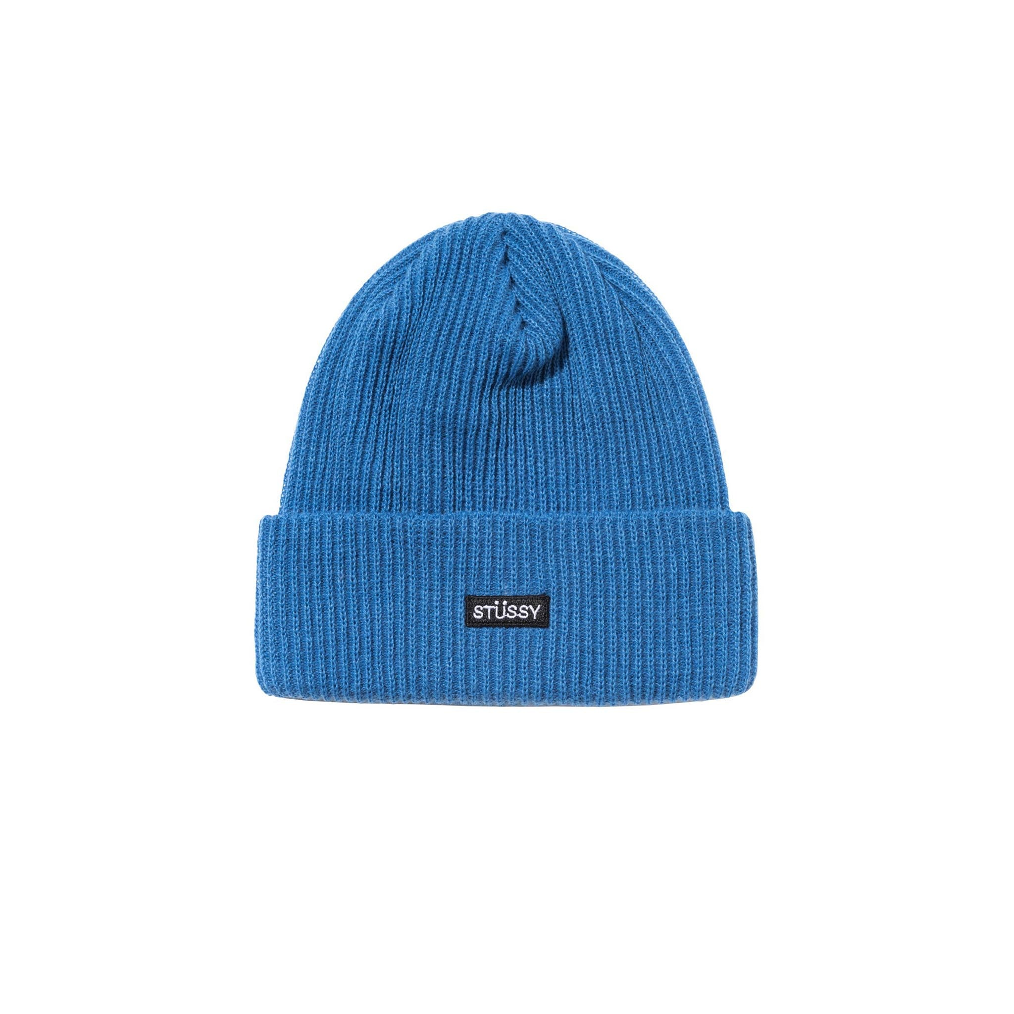 Stussy Small Patch Watchcap Beanie Blue