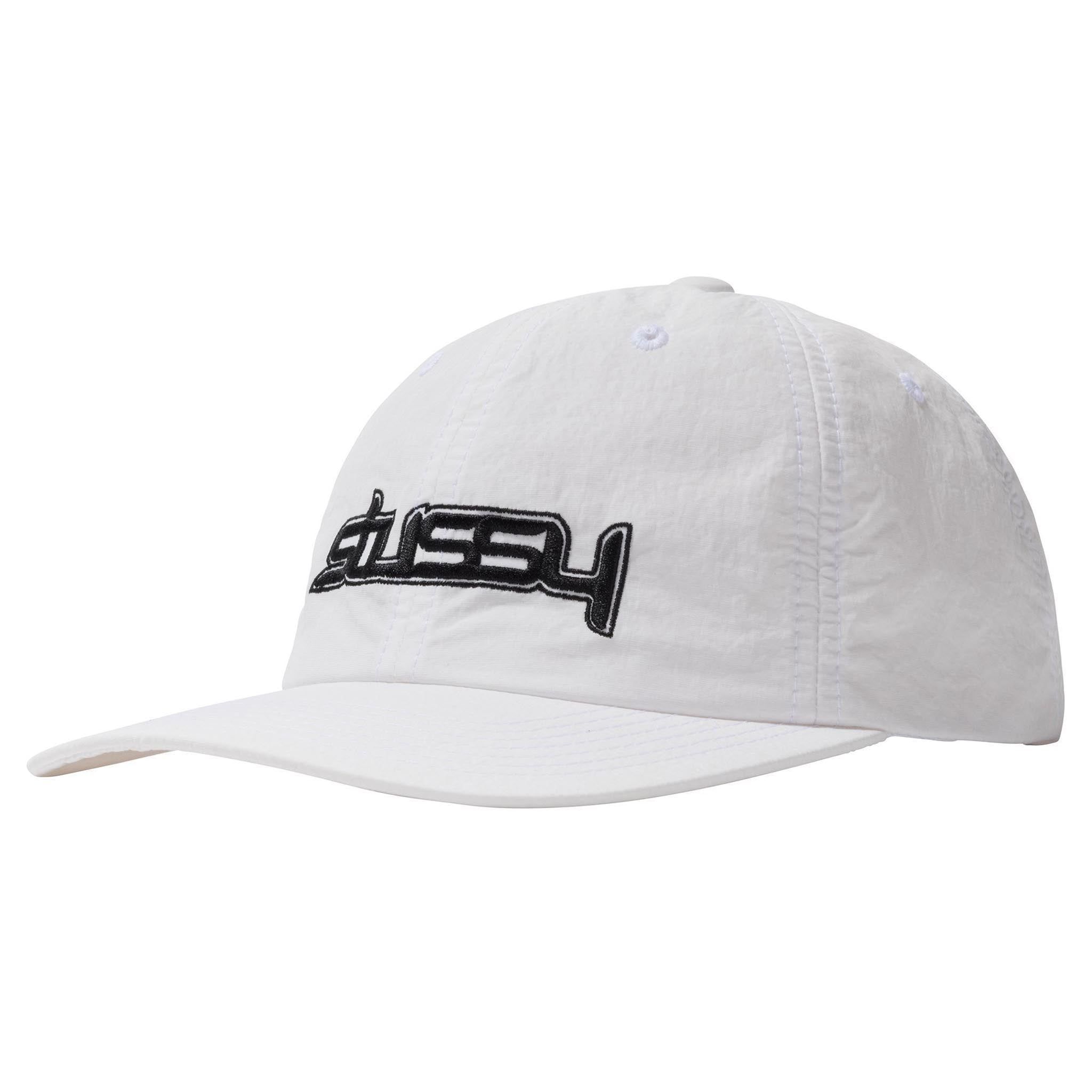 Stussy Flight NYCO Low Pro Cap White