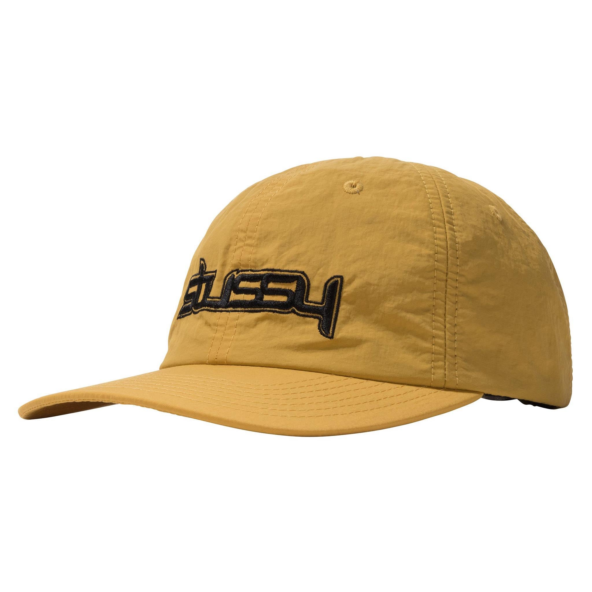 Stussy Flight NYCO Low Pro Cap Yellow