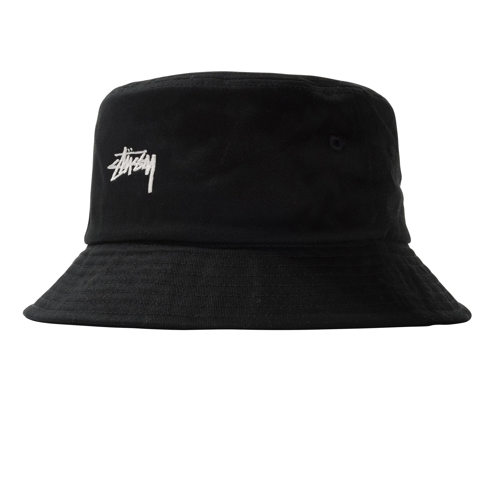 Stussy Stock Bucket Hat Black