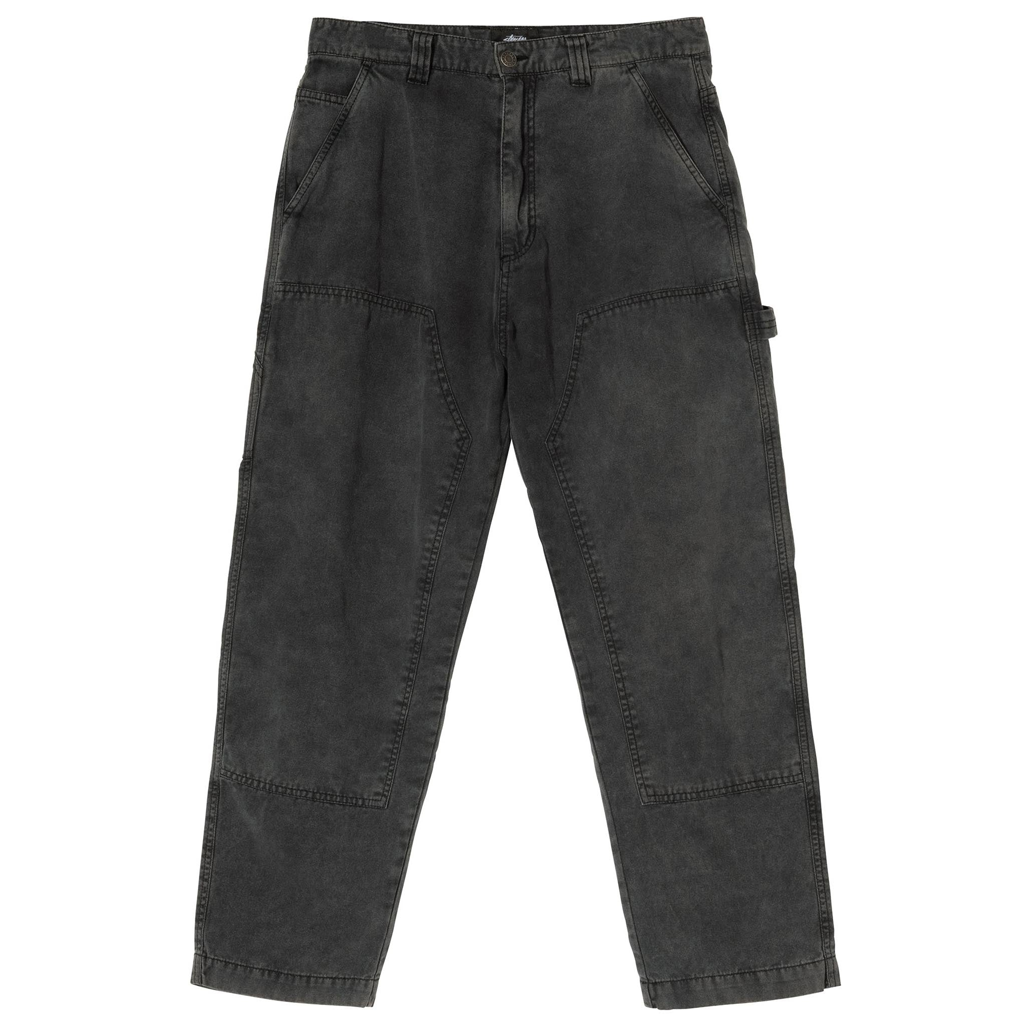 Stussy Washed Canvas Work Pant Grey