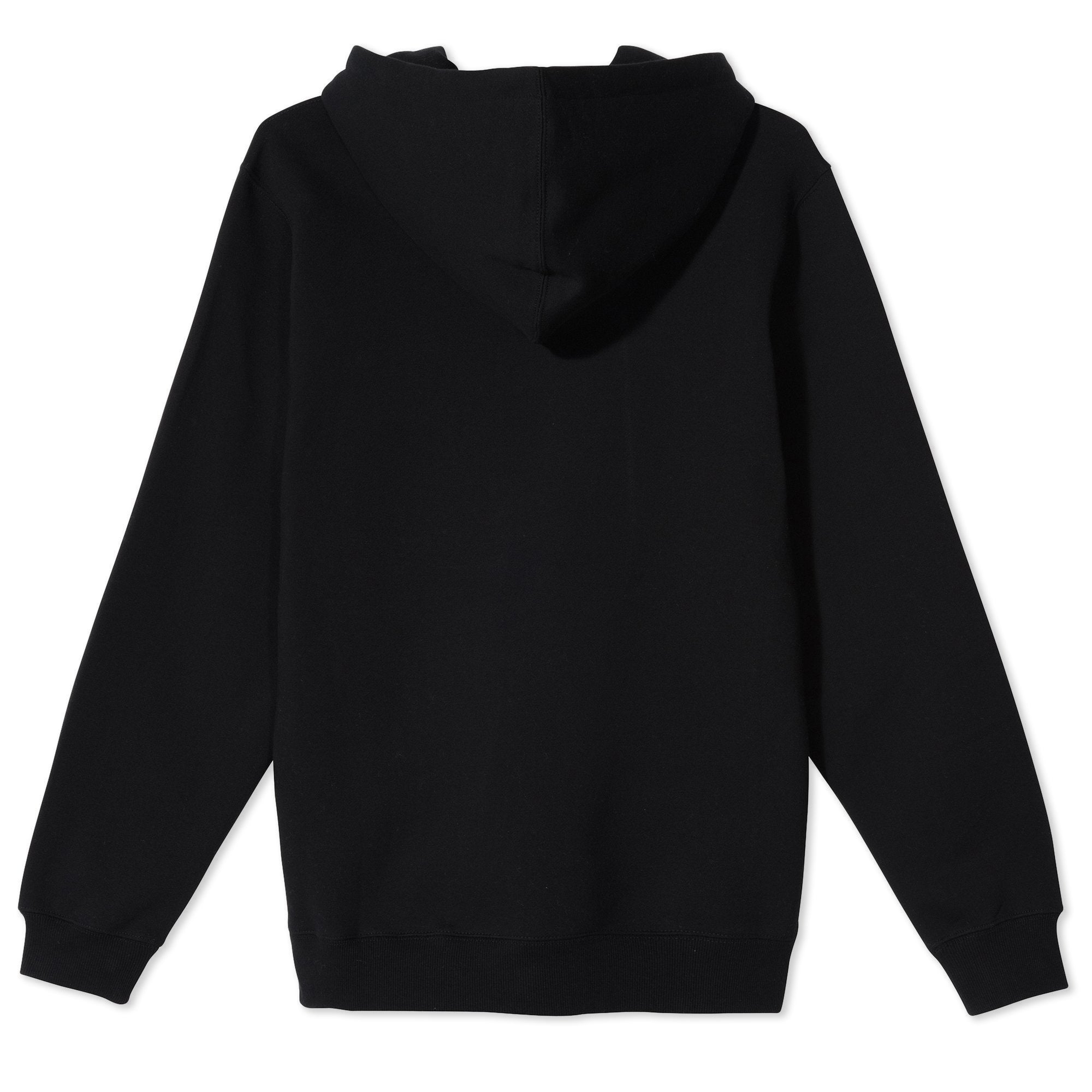Stussy 2 Bar Applique Hoodie Black