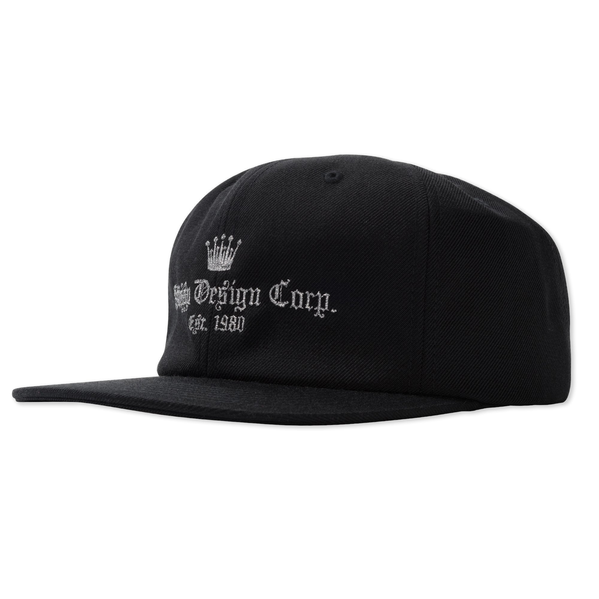 Stussy Crown Cap Black