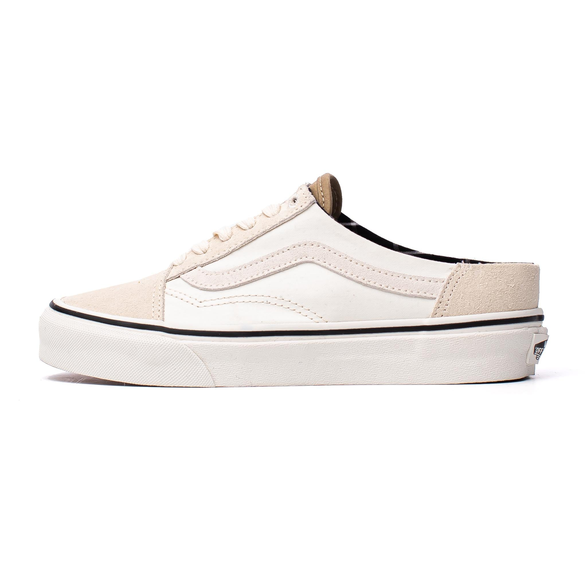 Vans Old Skool Mule White