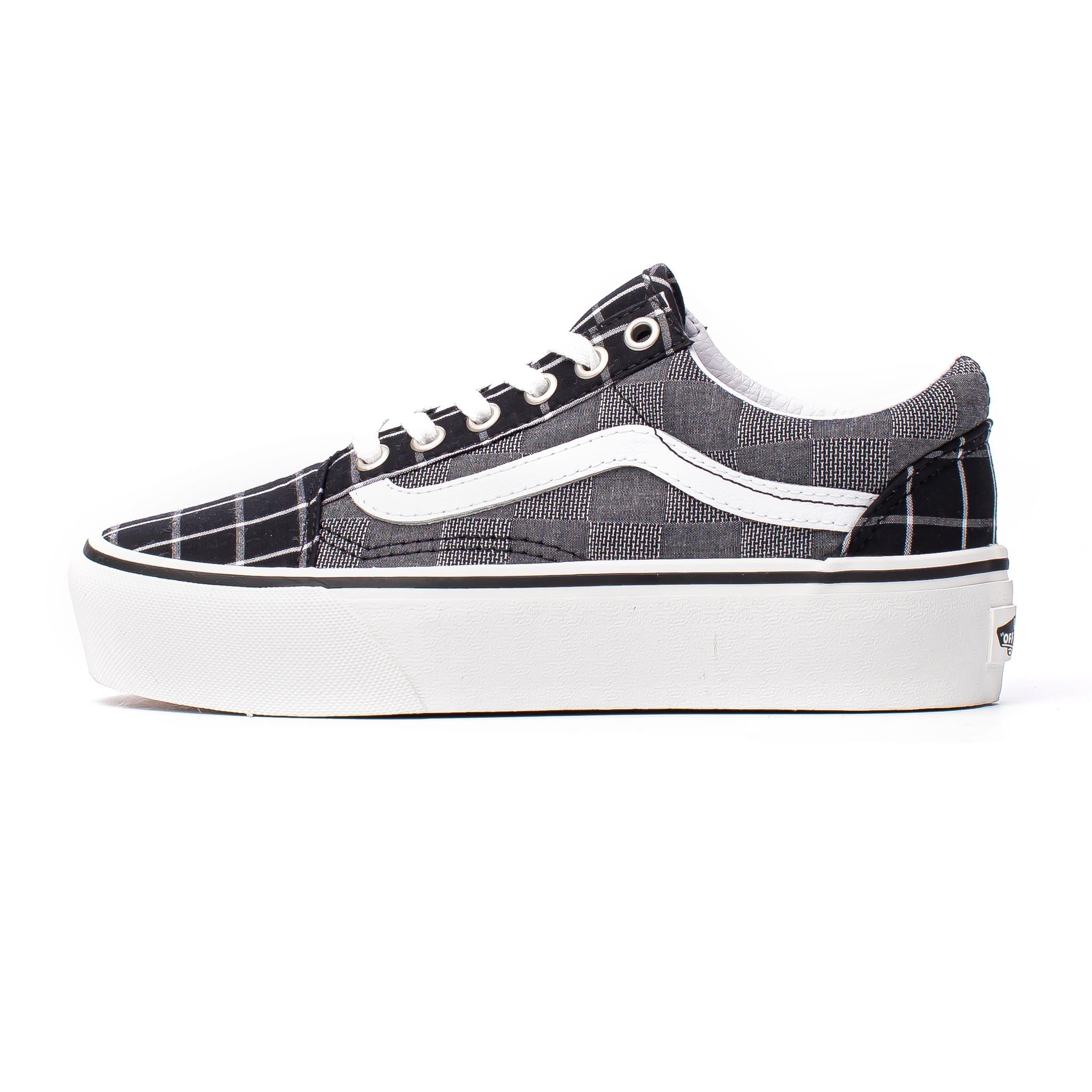 Vans Old Skool Platform Black/Check