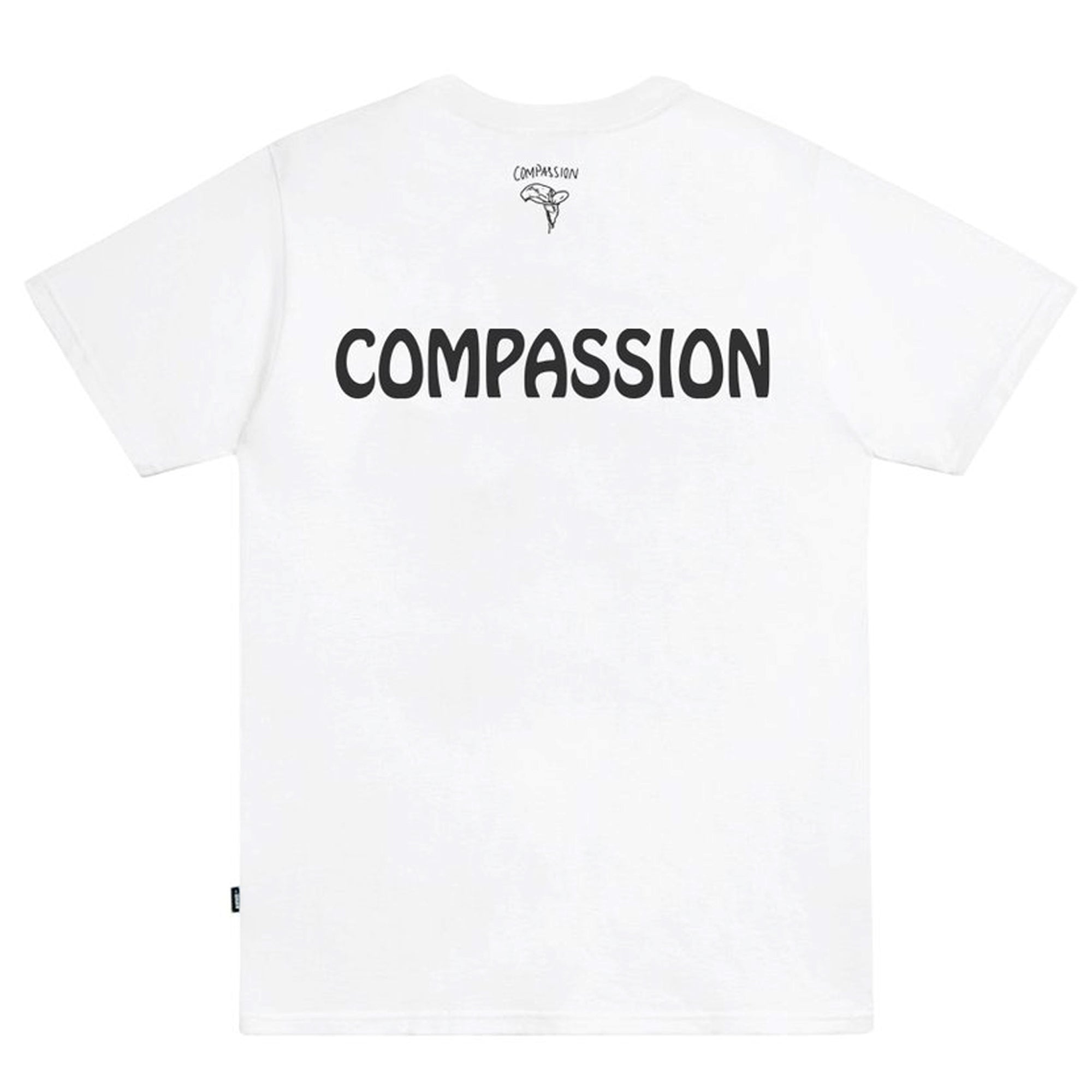 Vans Vault x Julian Klincewicz 'Compassion' Graphic Tee White