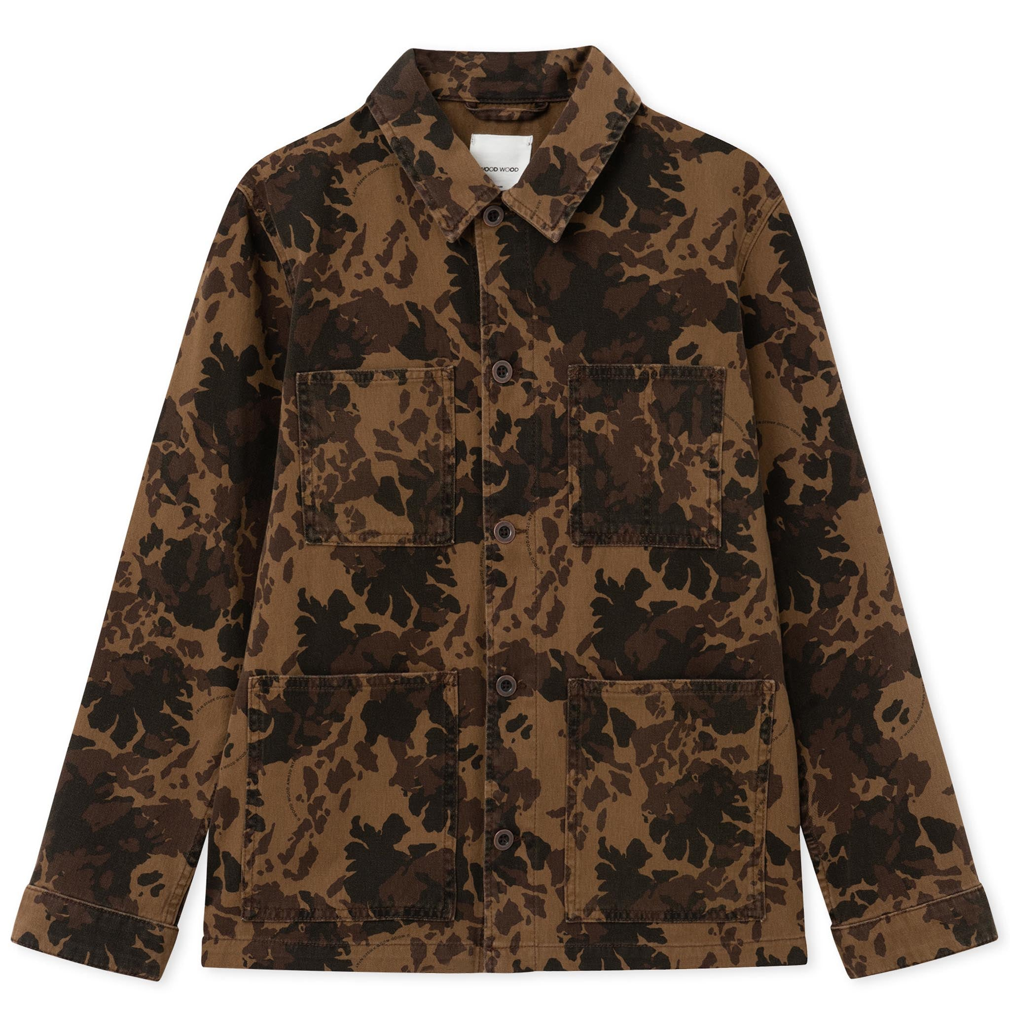 Wood Wood Axel Shirt Khaki