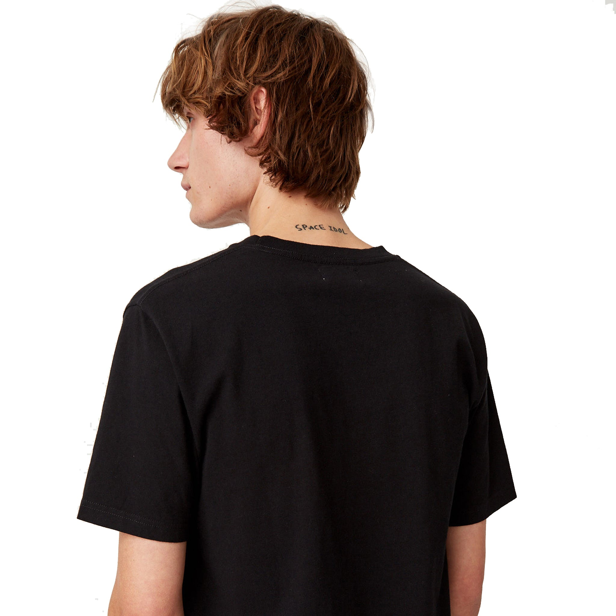 Wood Wood Foam Tee Black