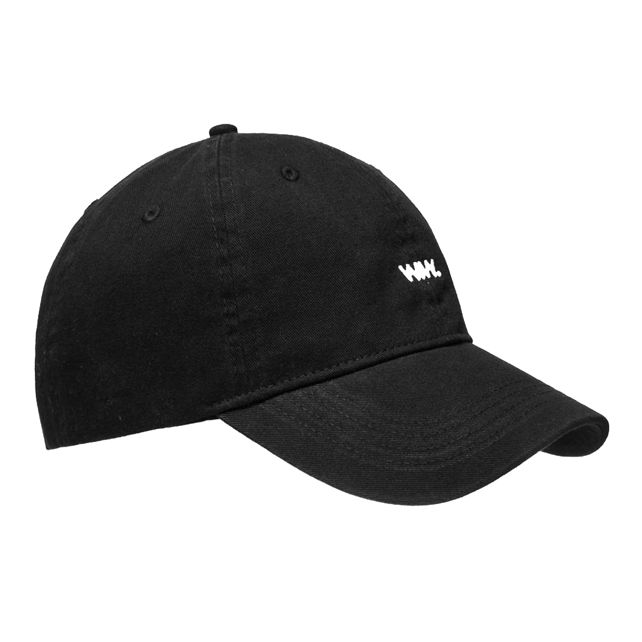 Wood Wood Low Profile Cap Black